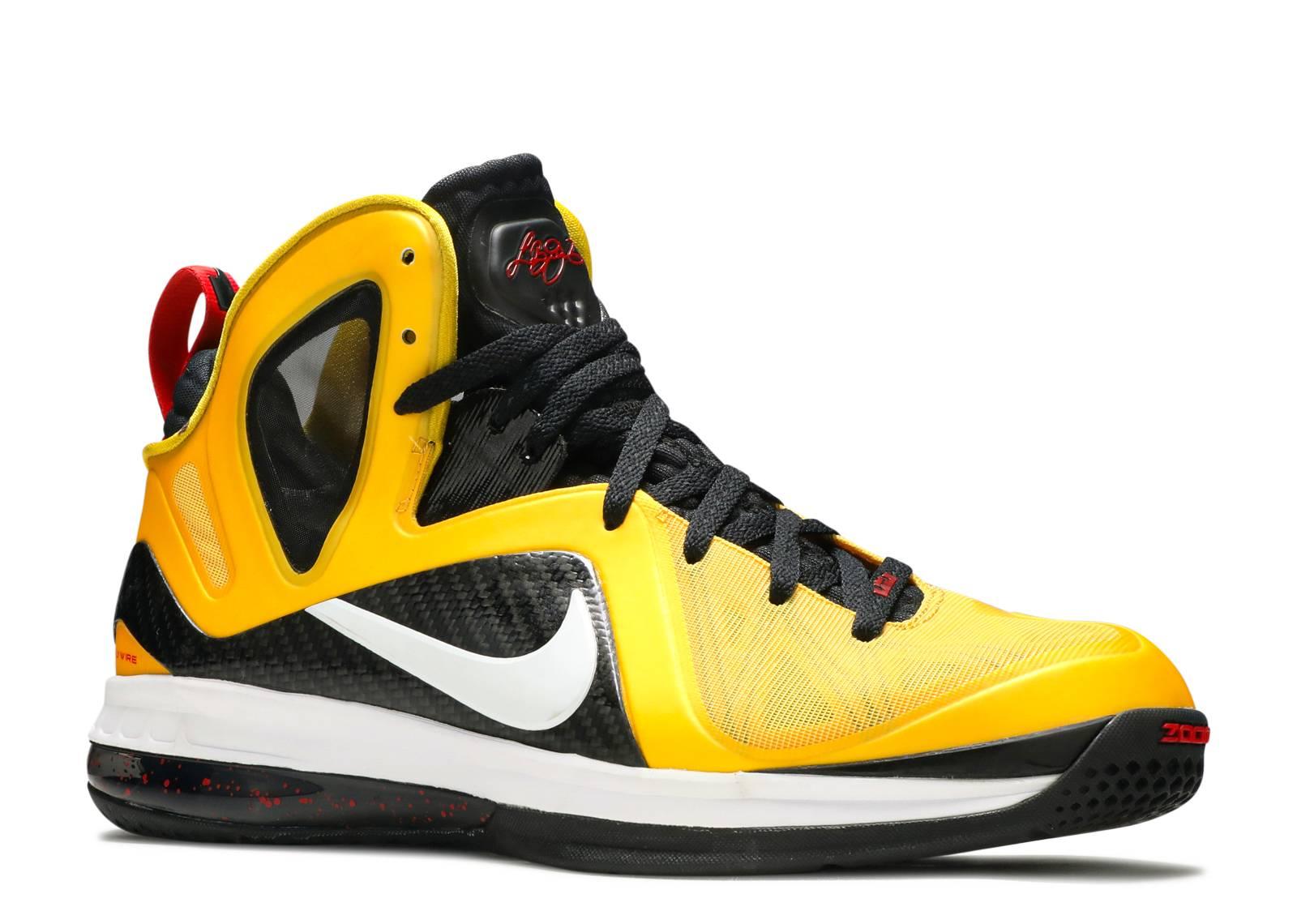 promo code 0bd1b e4ddb lebron 9 black yellow