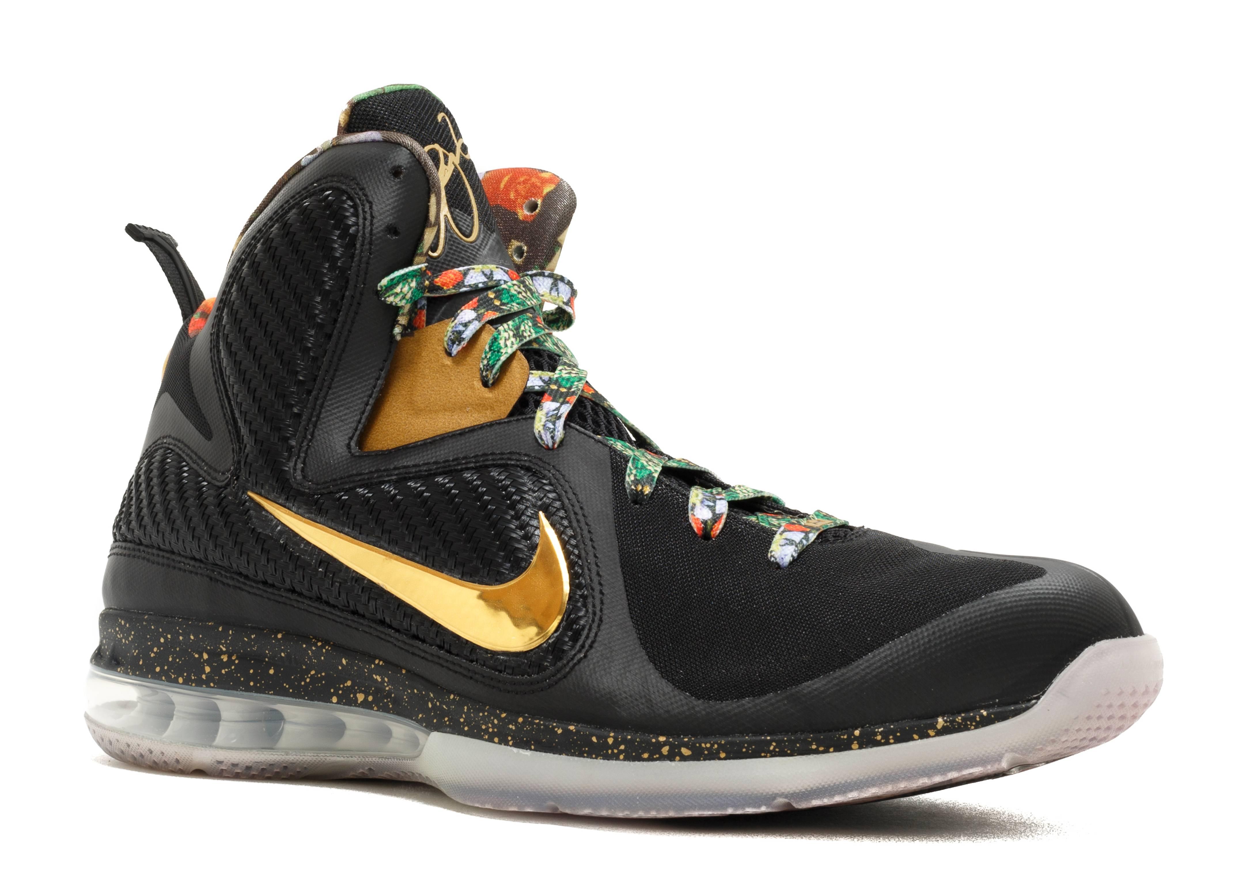 "Lebron 9 ""watch The Throne"" - Nike - bom286954 - black ..."