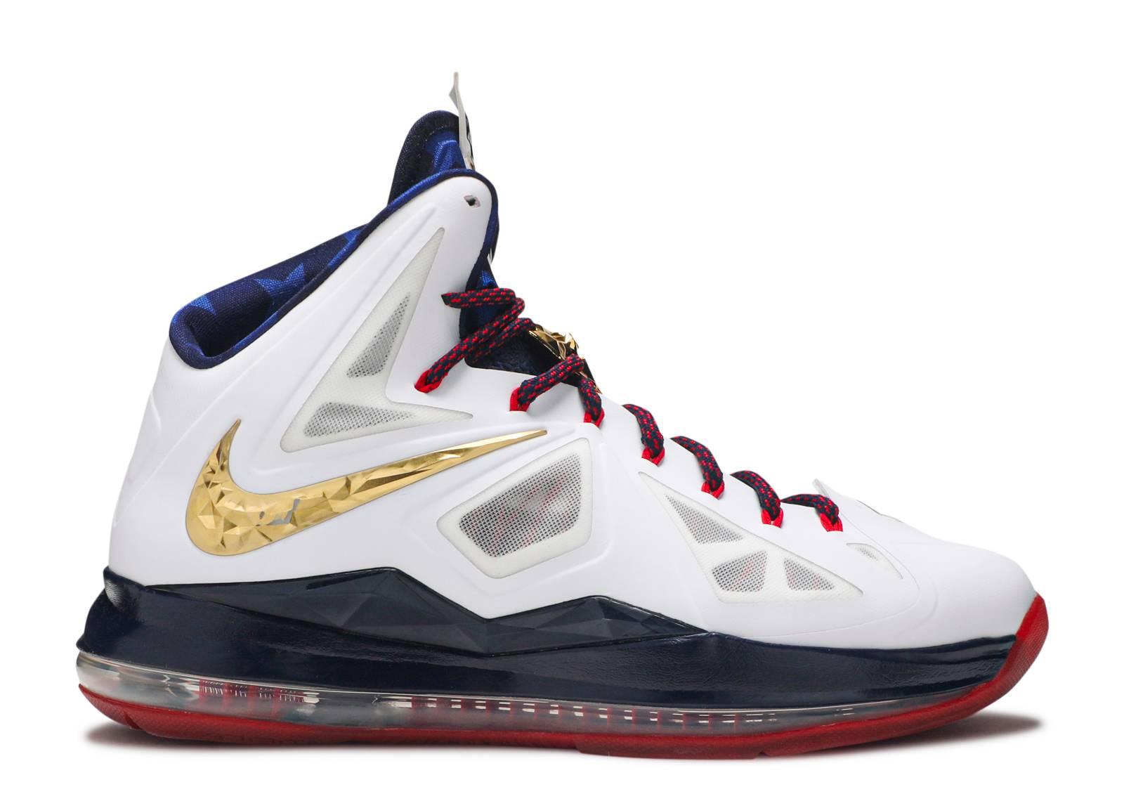 "Lebron 10+ Sport Pack ""gold Medal"" - Nike - 542244 100 ..."