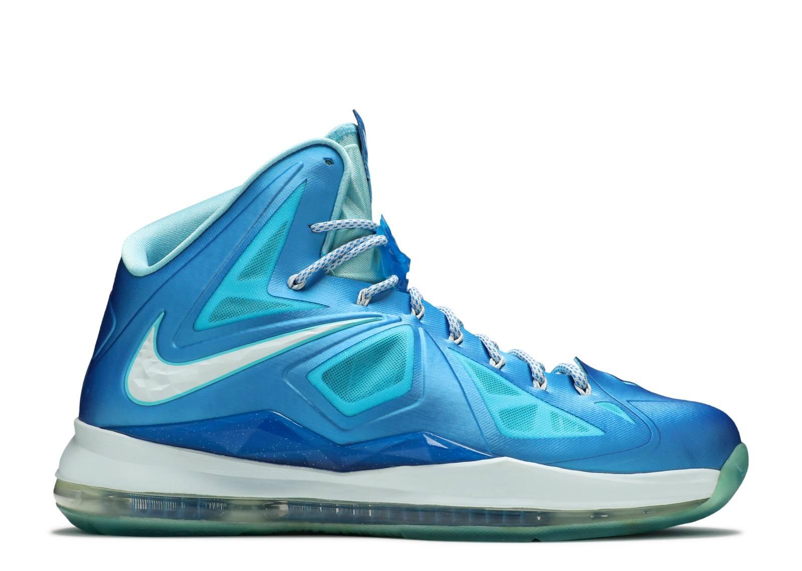 "lebron 10+ sport pack ""blue diamond"""