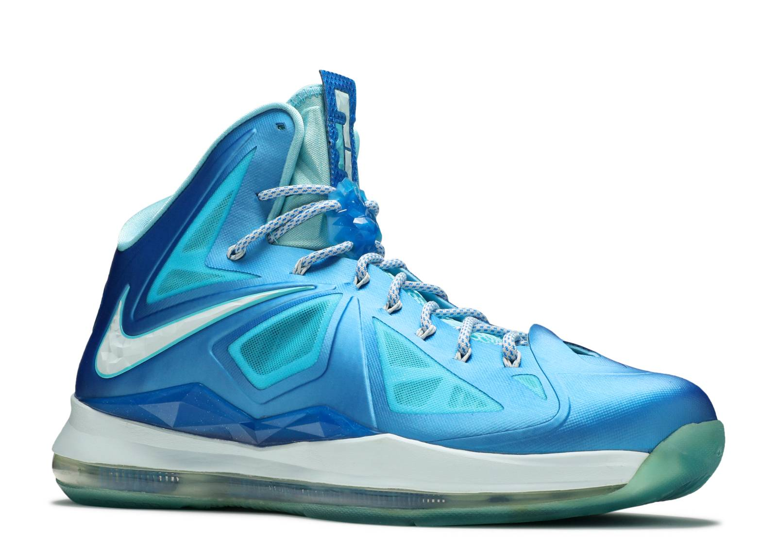 the latest 2072f 6a67e nike lebron 10 blue diamond