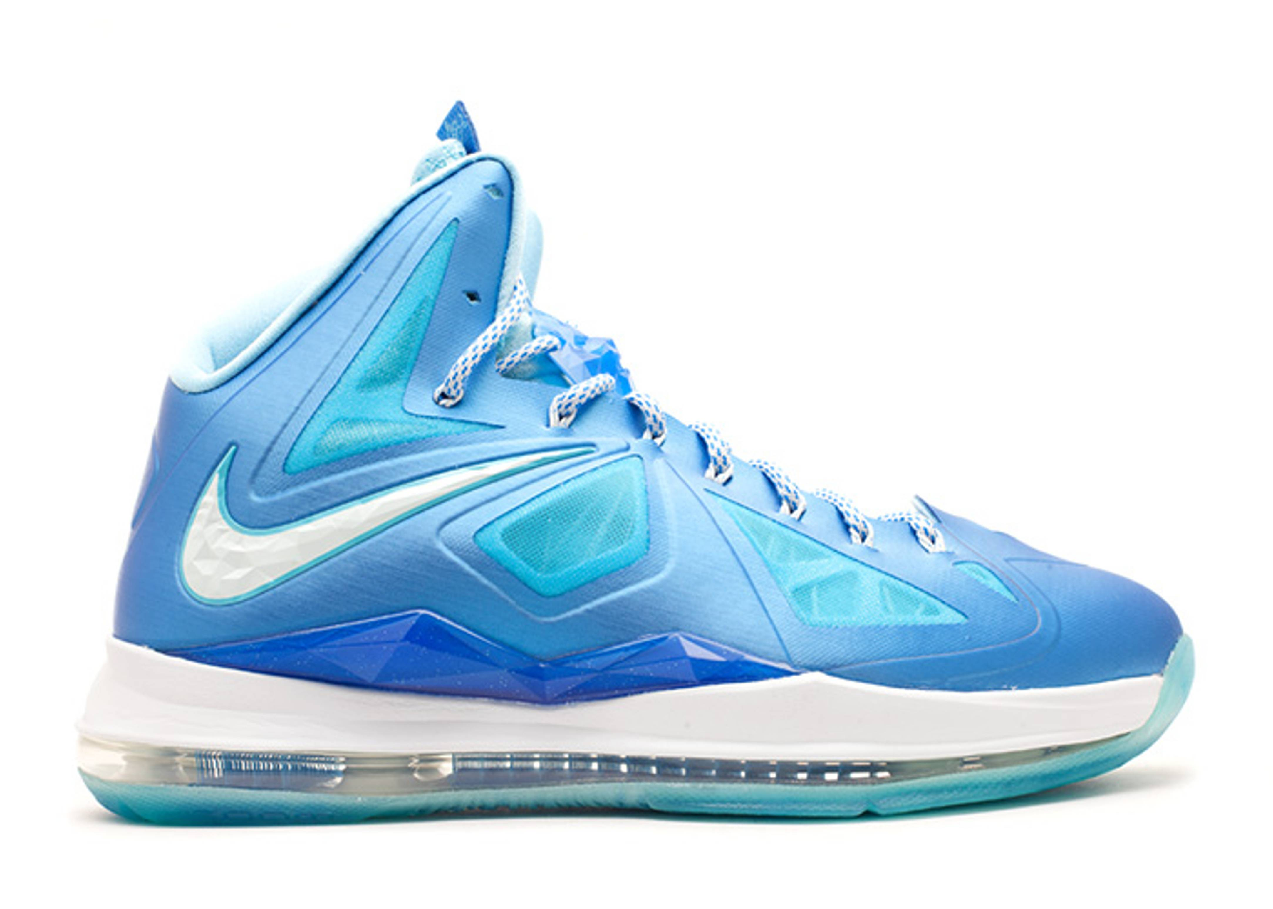 "lebron 10 ""blue diamond (without sport pack)"""