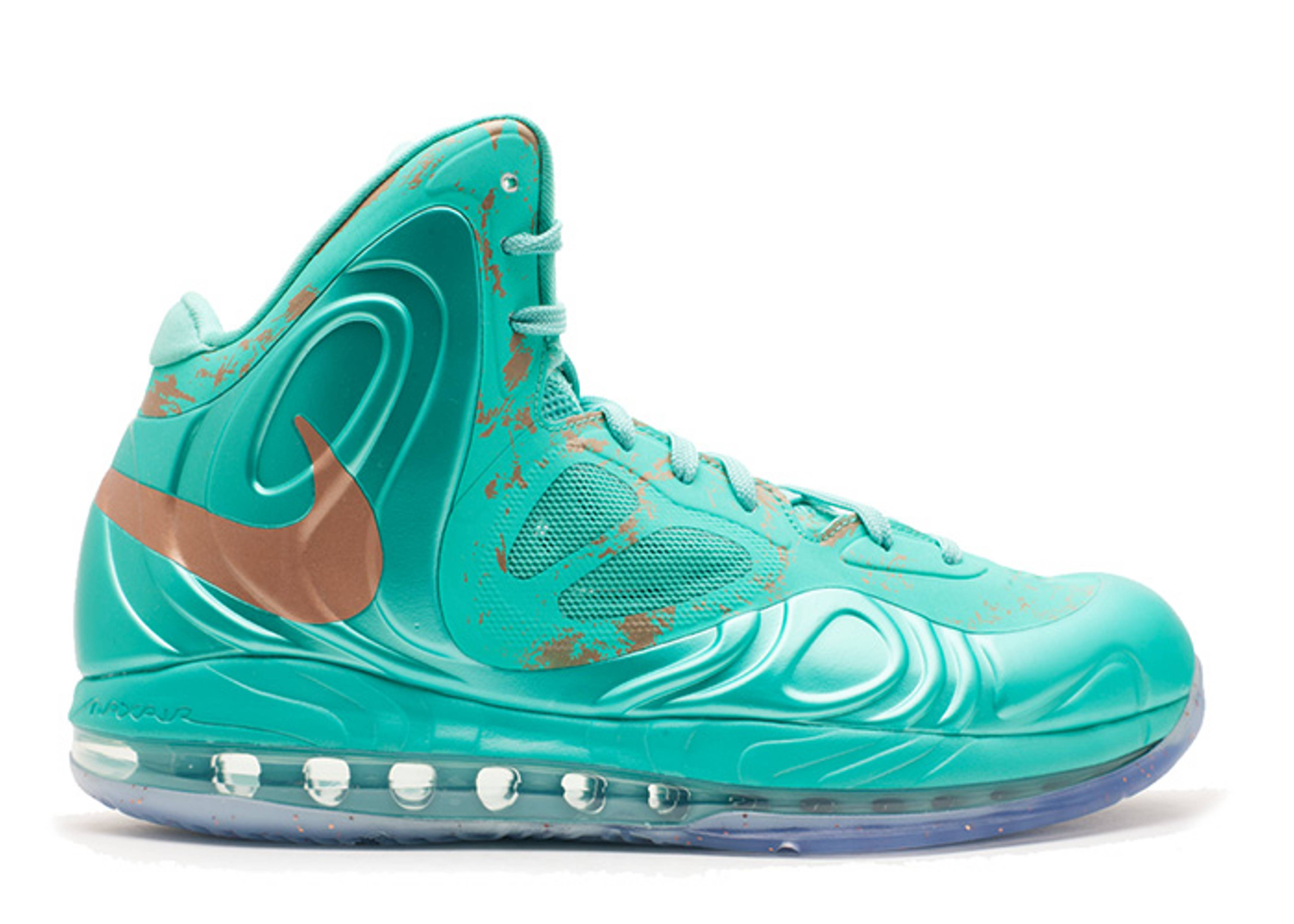 NIKE AIR HYPERPOSITE MAX STATUE OF LIBERTY 524862 301 MINT GREEN
