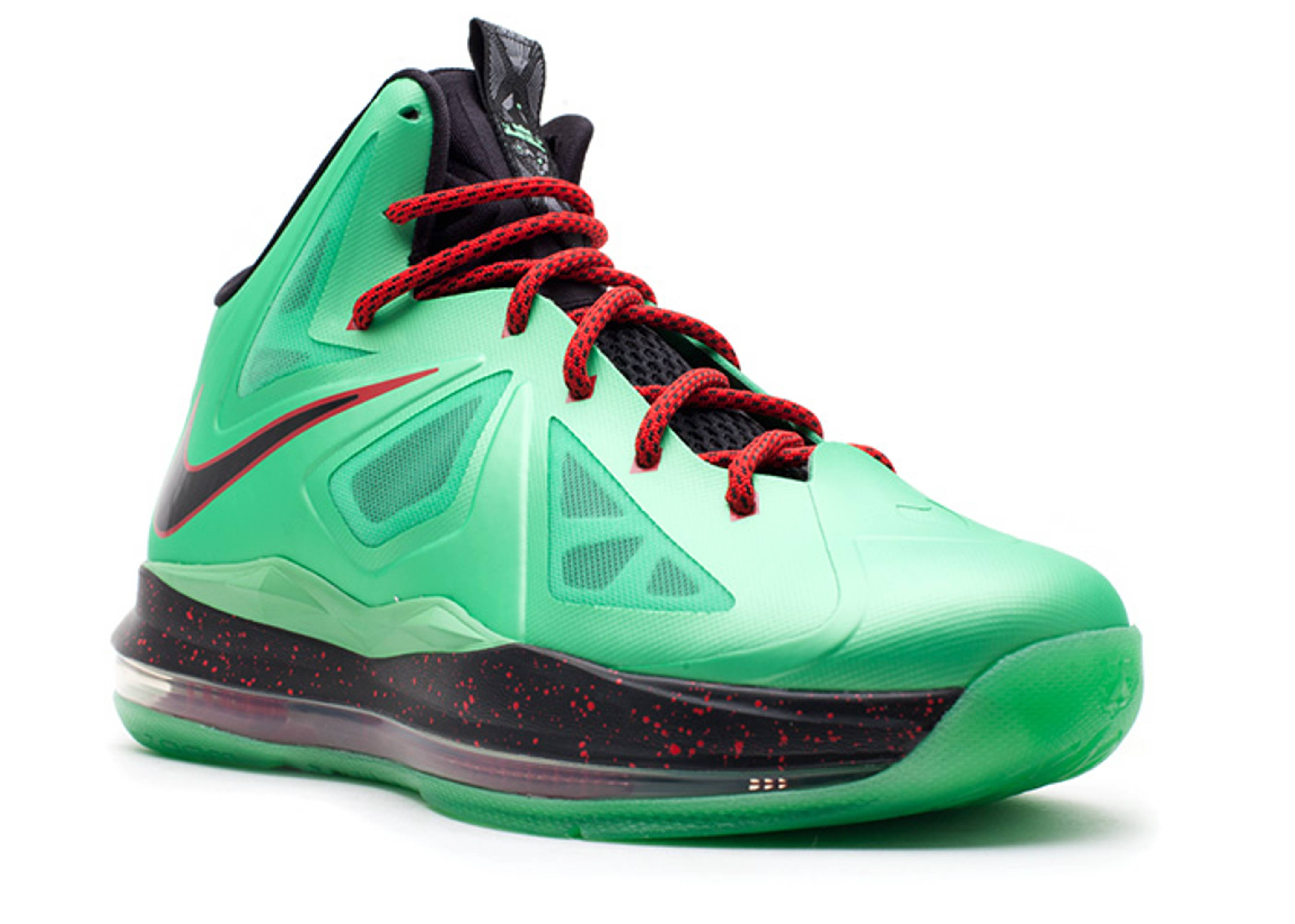 sale retailer 5e094 f726e Authentic Nike Lebron 10 Cutting Jade Blue Red Black   Phoenix Managed  Networks