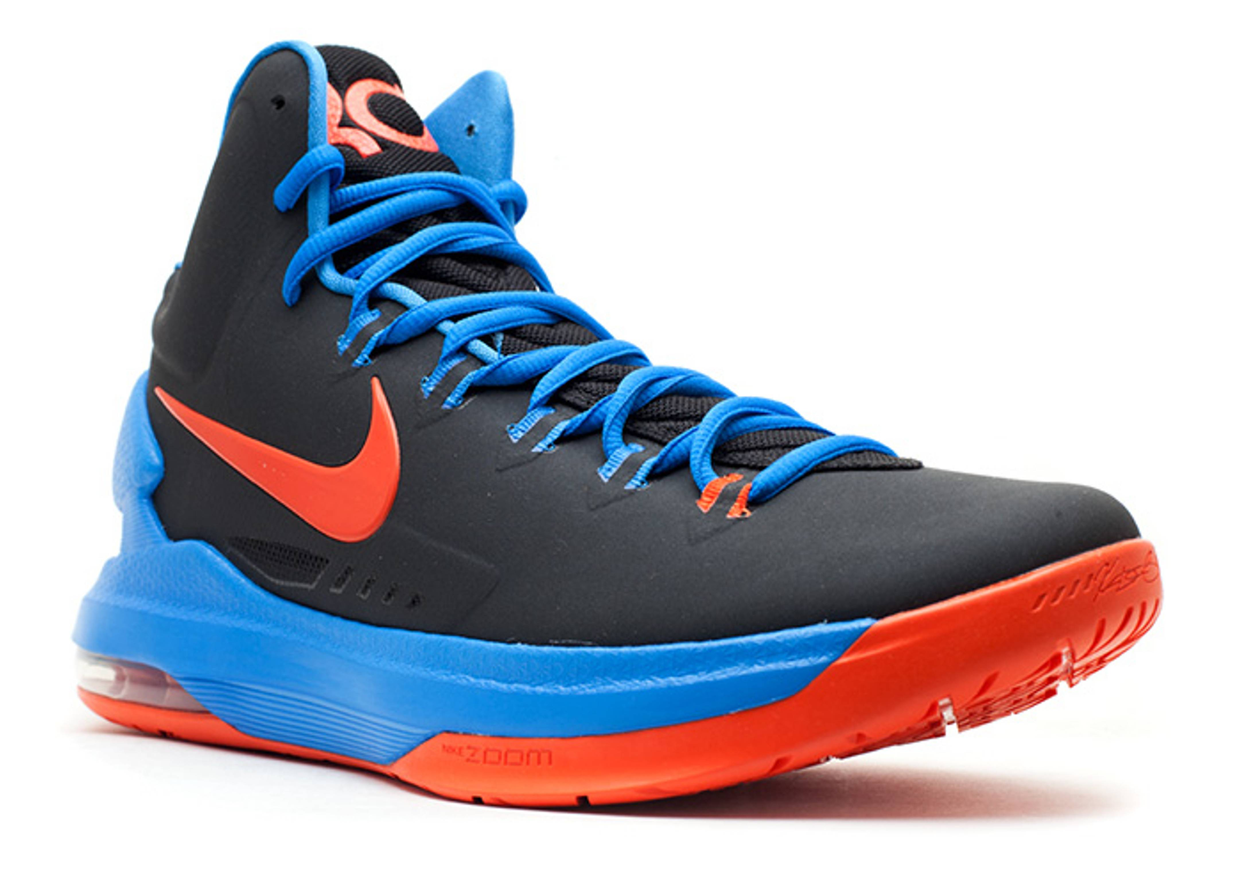kd 5 black/team orange-photo blue