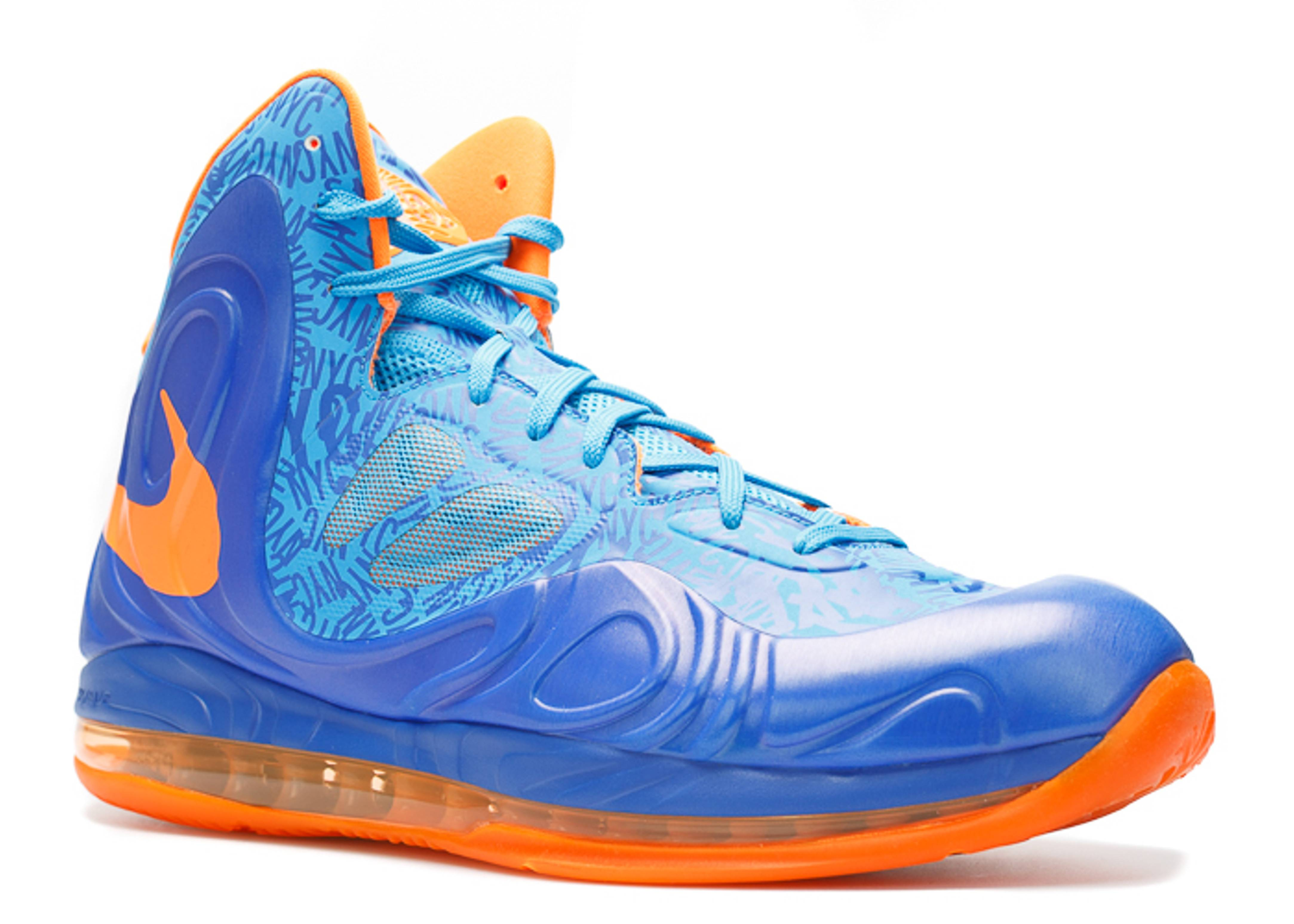 the latest 97ff8 3ff81 nike air max hyperposite blue eyes on back