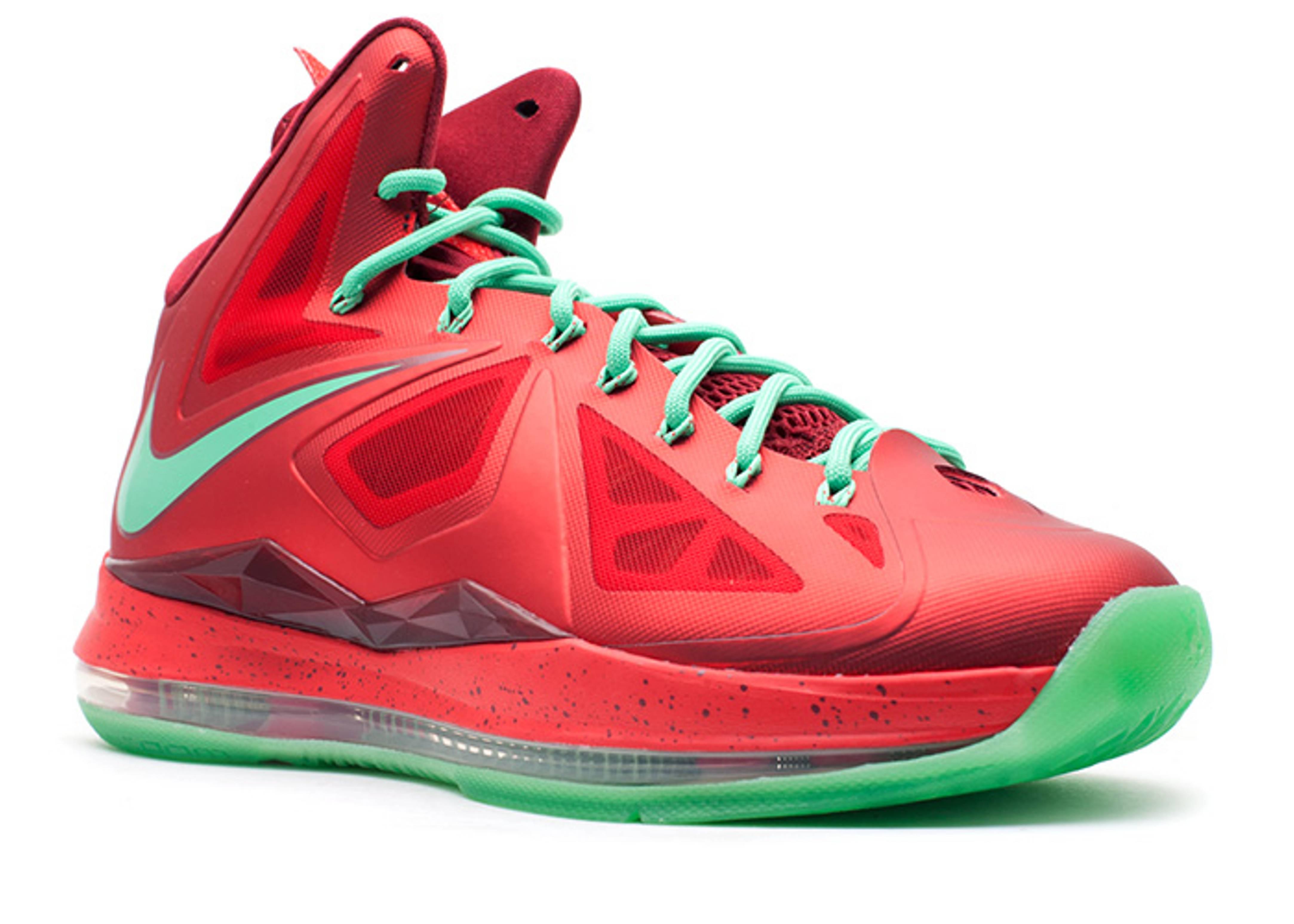 Lebron Christmas 10.Lebron 10 Christmas Christmas Nike 541100 600