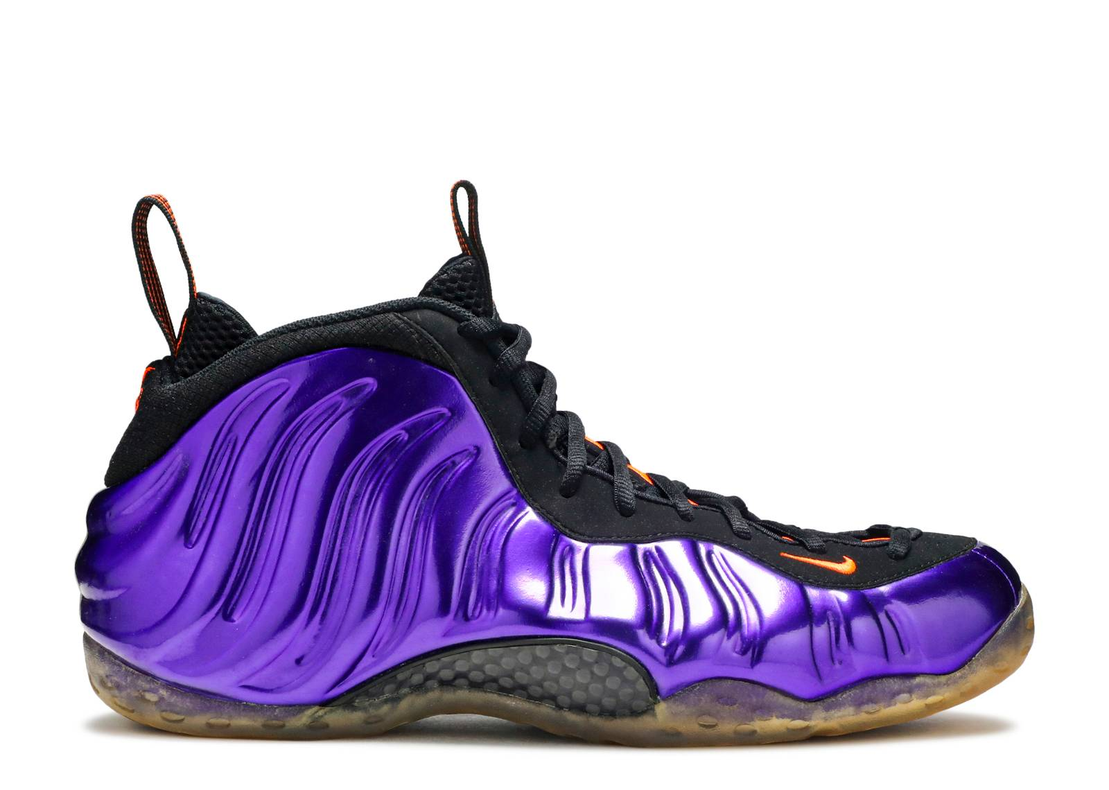 Nike Foamposite One Mens Phoenix Suns Electro Purple Total OrangeBlack 314996501 Discount YChad