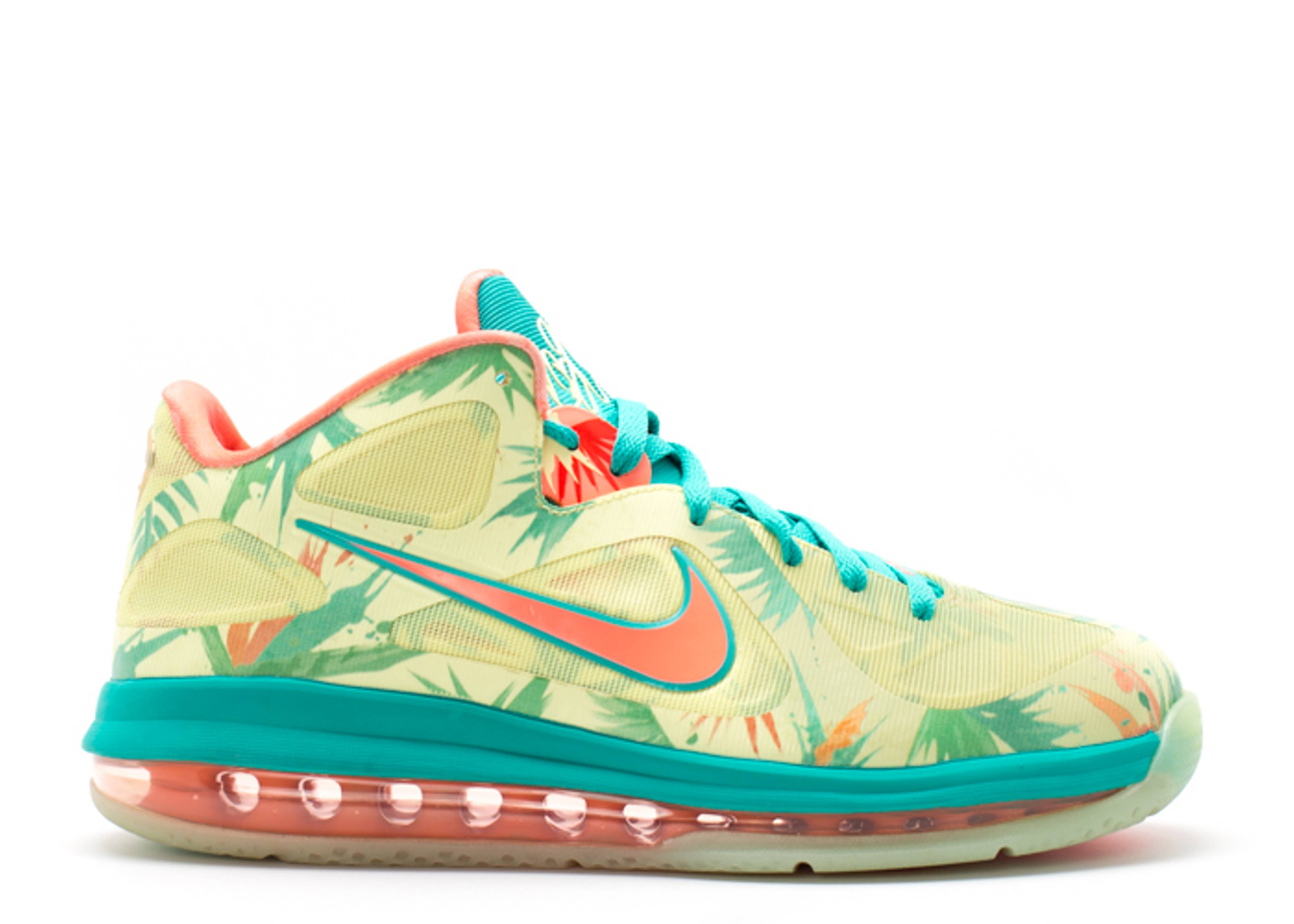 "lebron 9 low ""lebronald palmer"""