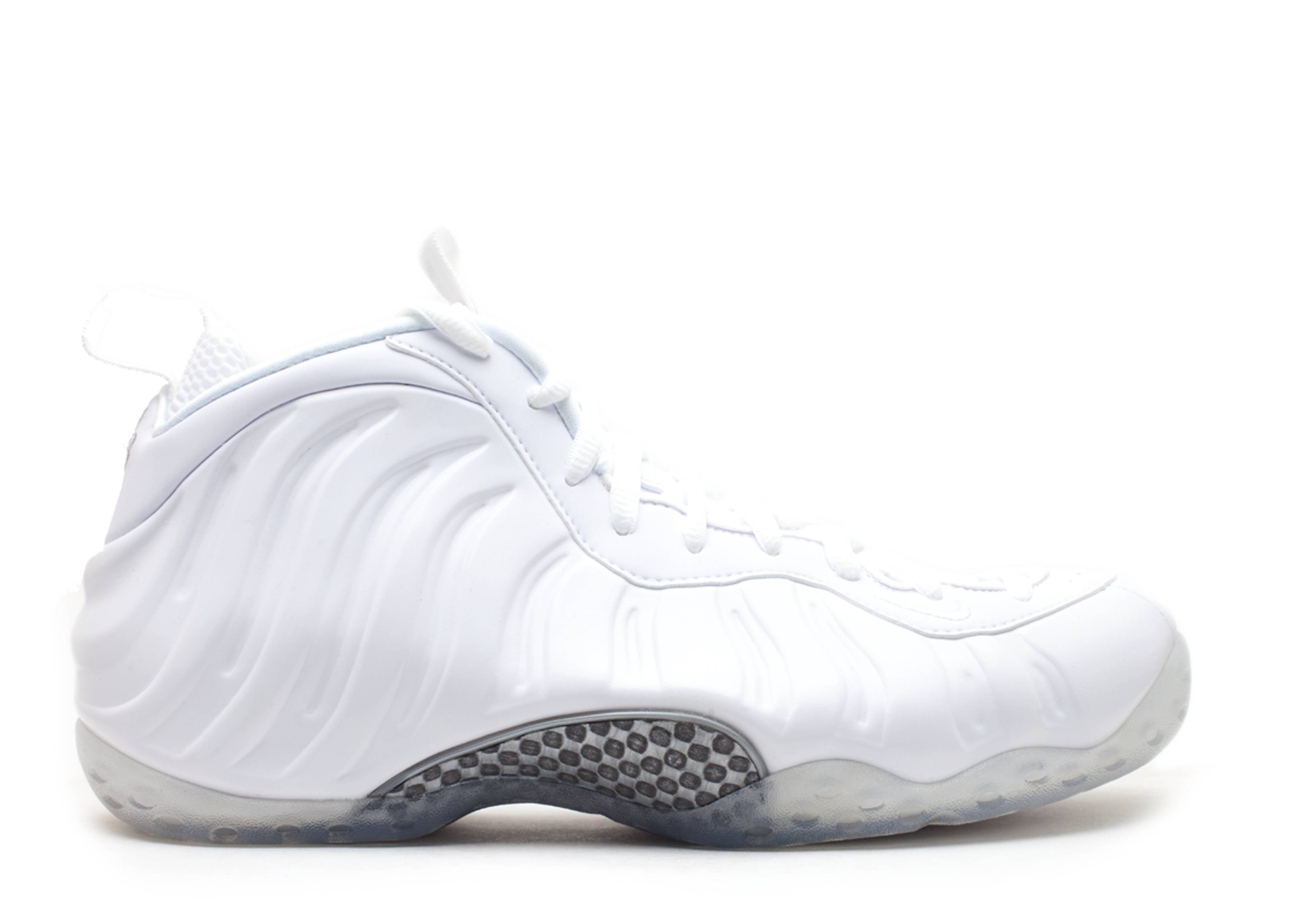 """air foamposite one """"white-out"""""""