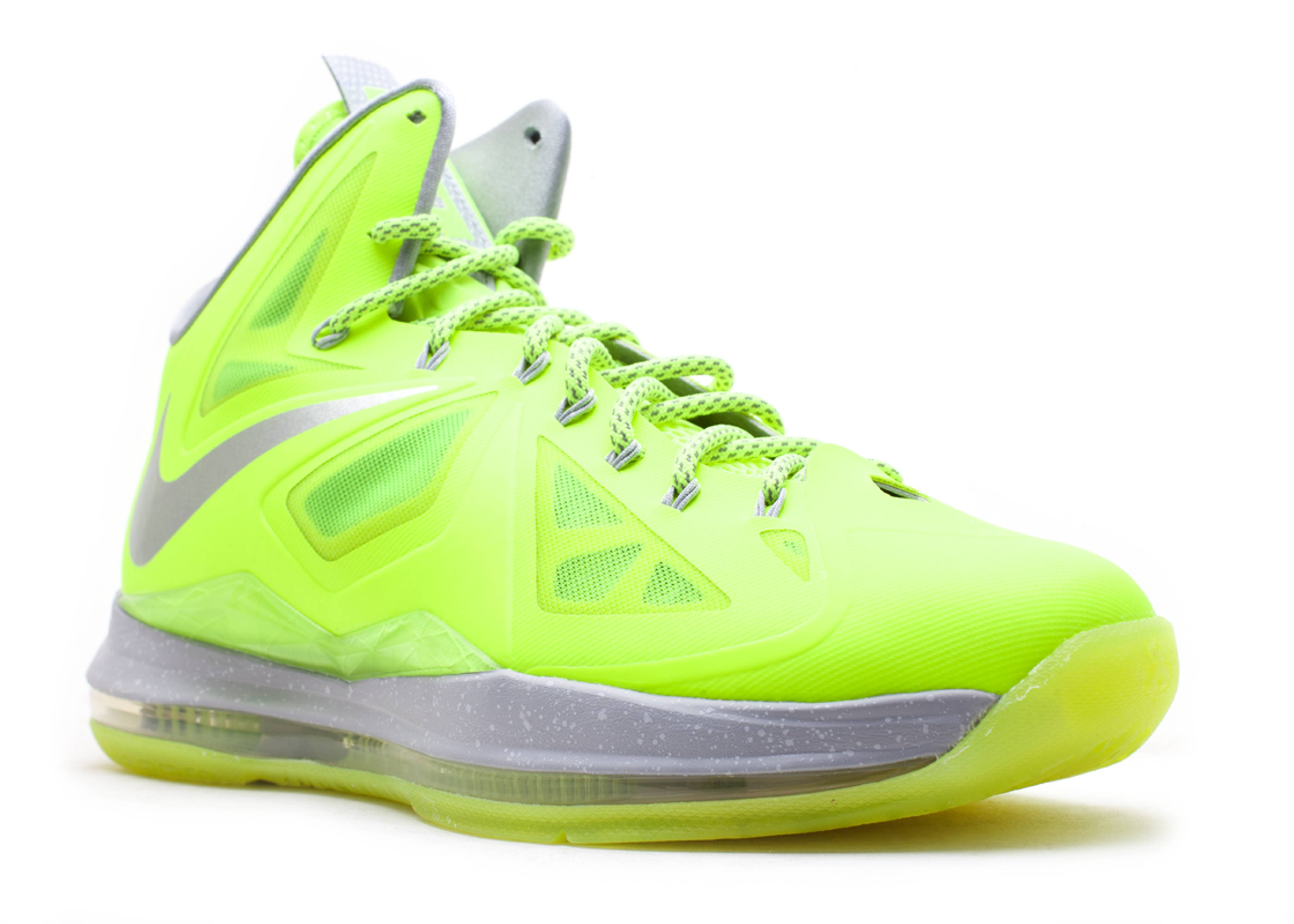 competitive price 23b92 f9e39 Buy Online Nike Lebron X Cheap sale Dunkman Volt Wolf Grey-Pure
