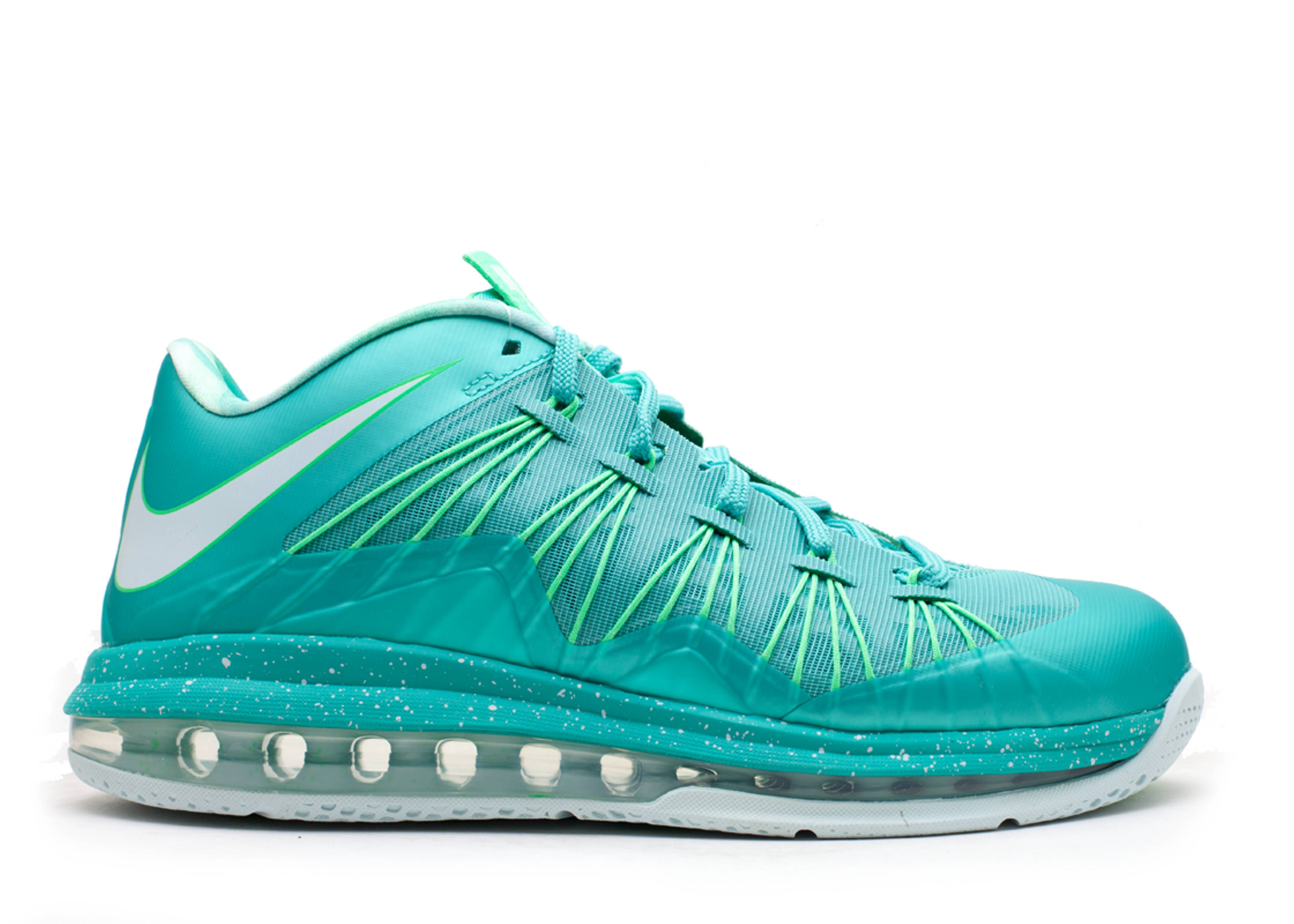 air max lebron 10 low \u0026quot;easter\u0026quot; - crystal mint/fbrglss-psn-grn | Flight Club