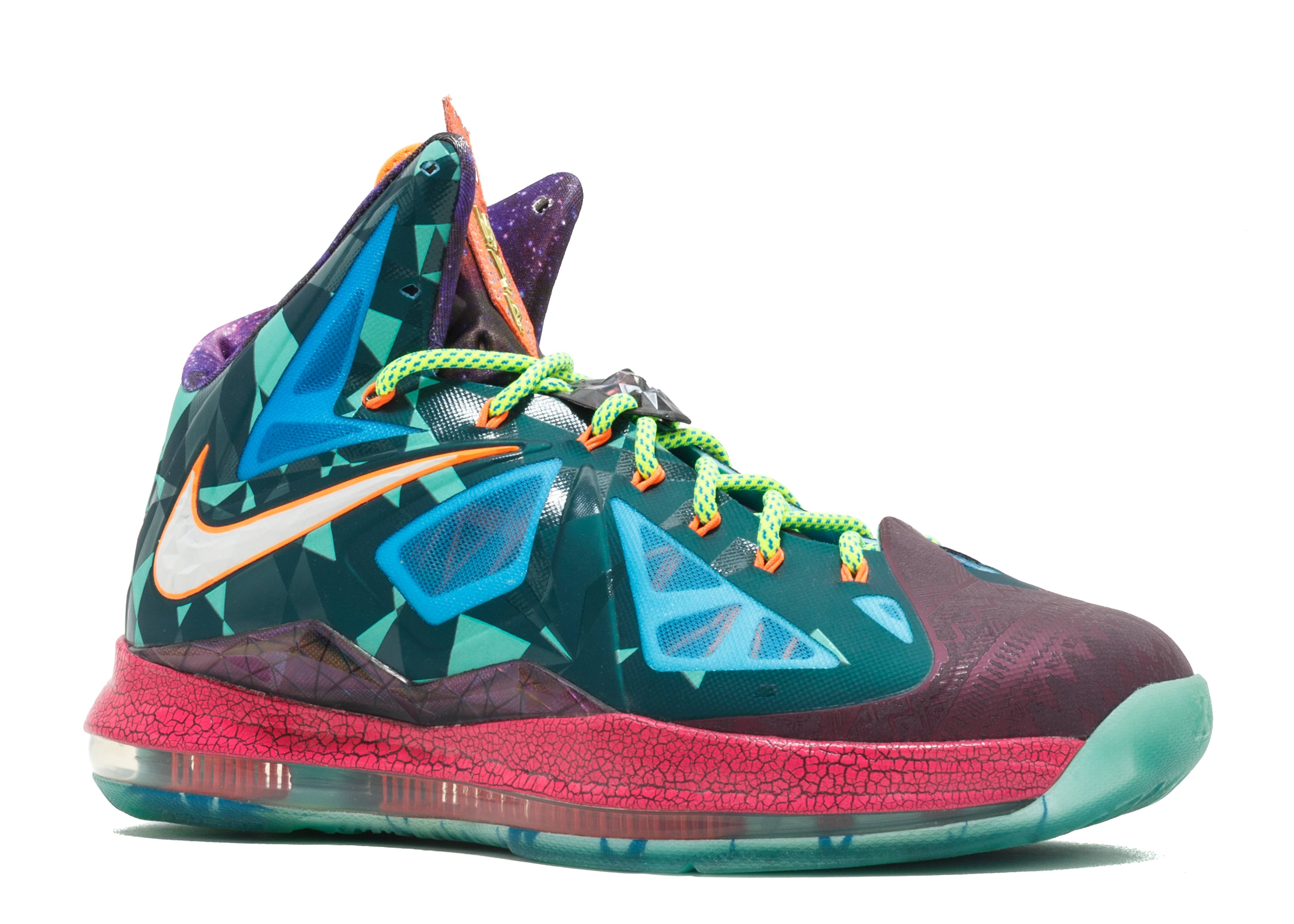 "Lebron 10 Premium ""what The Mvp"" - Nike - 618217 300 - dk ..."