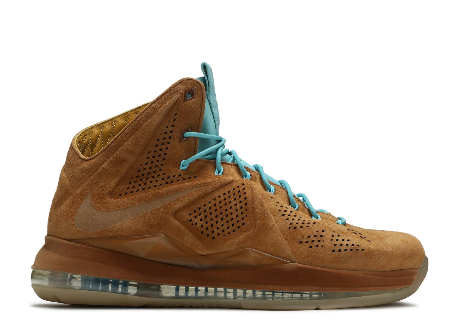 Cheap Nike Lebron 10 EXT - Brown Suede #607078-200 Consignment