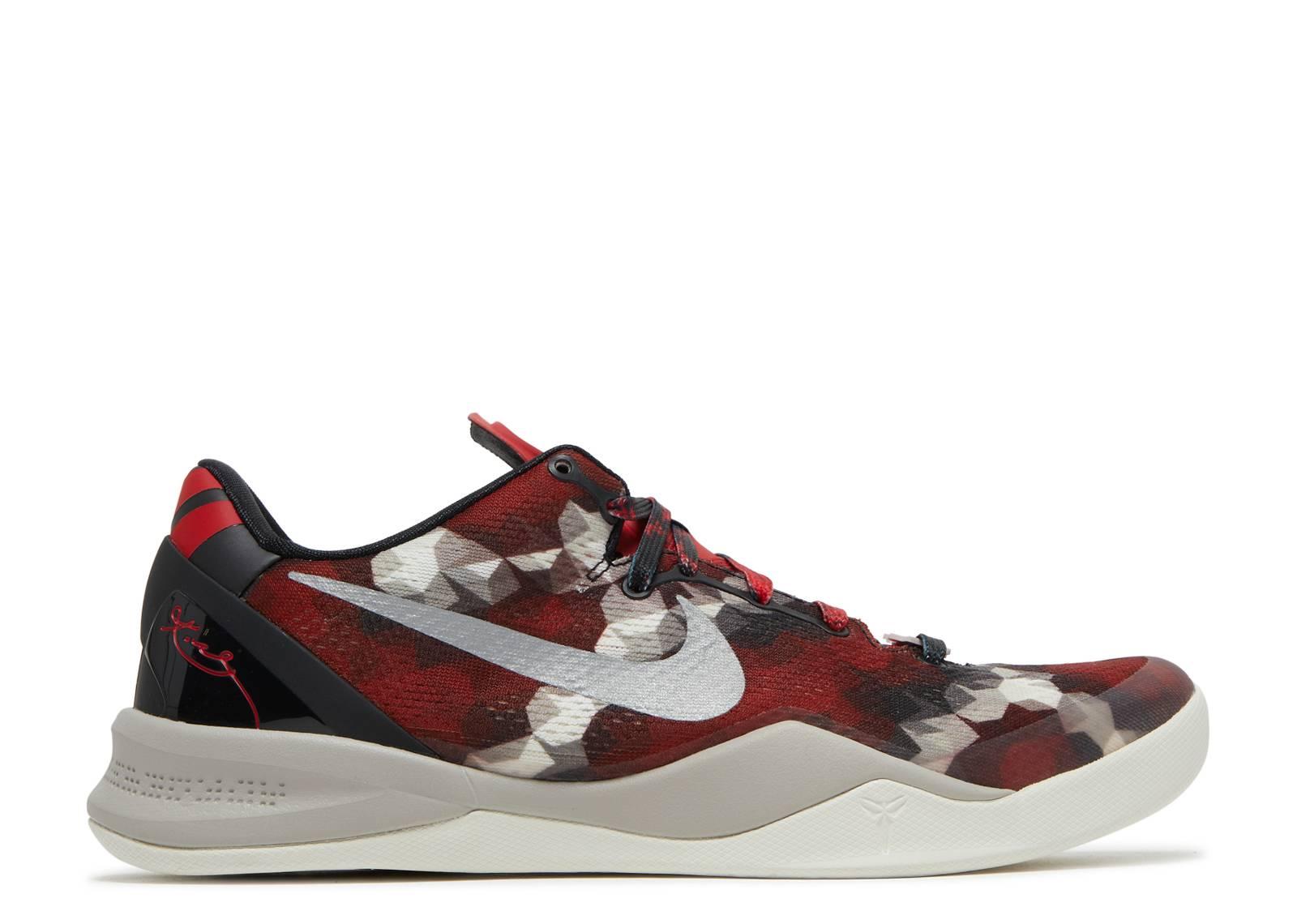 Kobe 8 System Milk Snake Nike 555035 601 Unvrsty Unvrsty 601 Rojo  Sl Nbl 831902