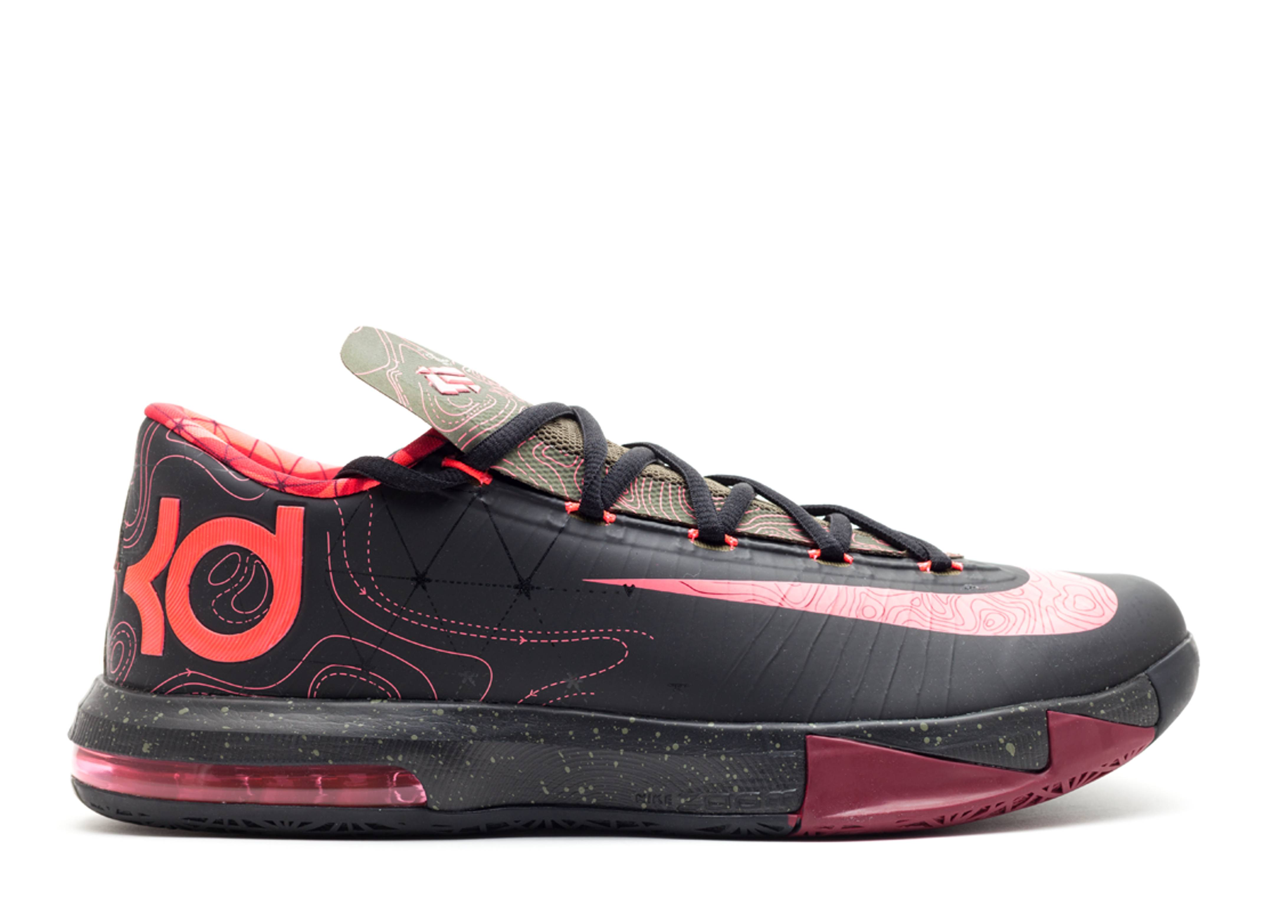 "Kd 6 ""meteorology"" - Nike - 599424 006 - black/atmc red ..."