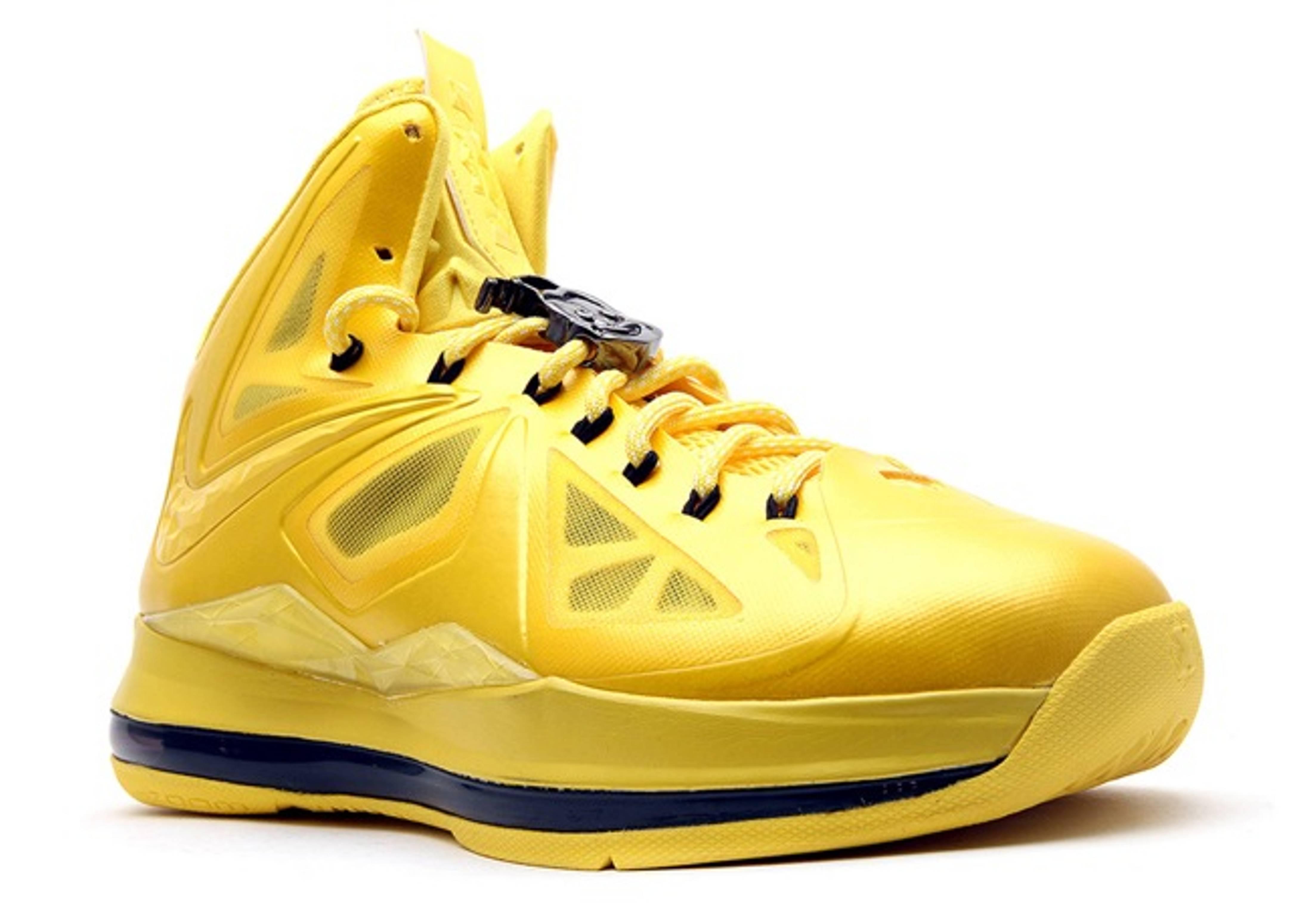 "Lebron 10 ""honeywell"" - Nike - 578346 994 - honey/honey ..."