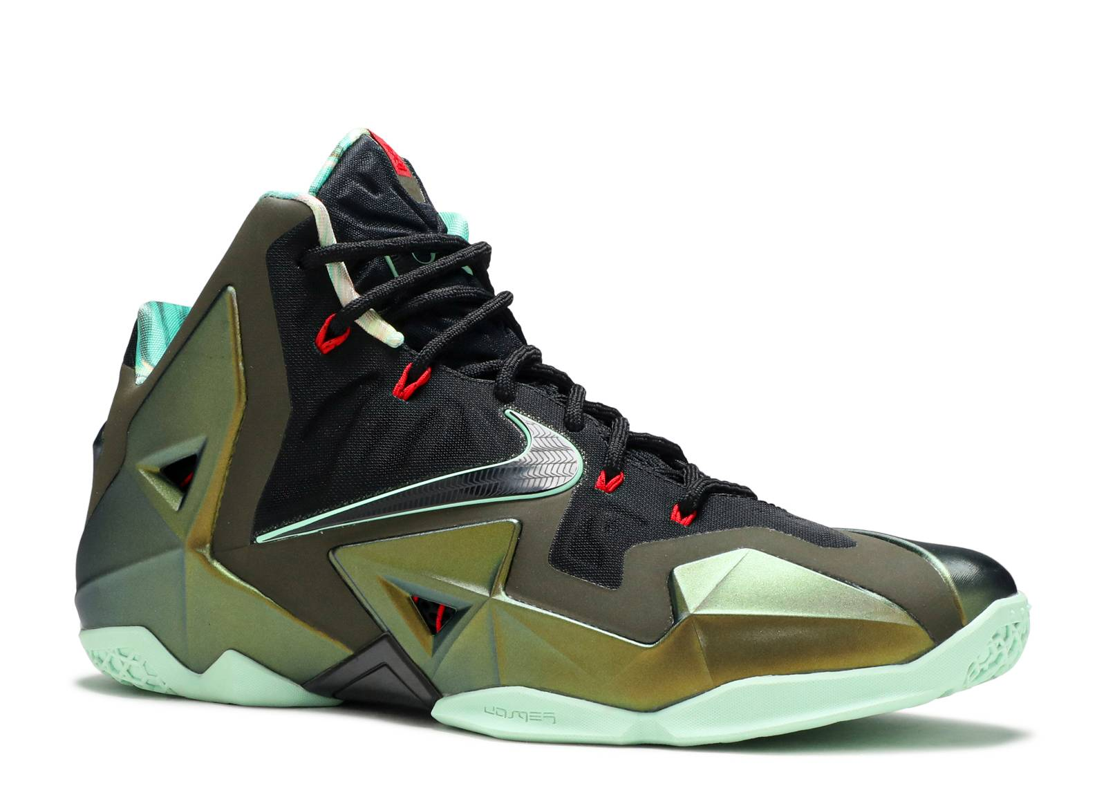 "Lebron 11 ""king's Pride"" - Nike - 616175 700 - prcht gld ..."