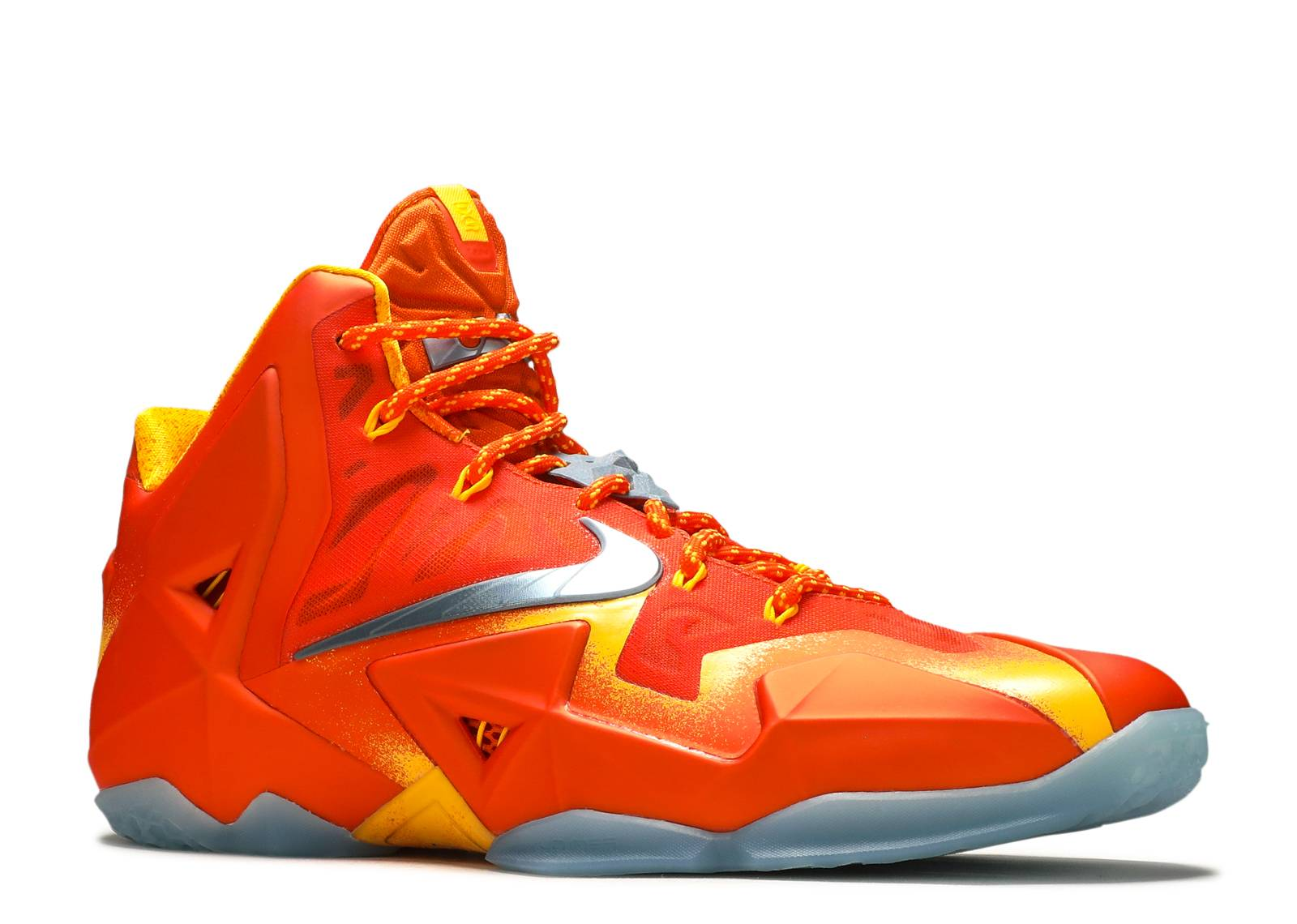 "Nike Lebron 11 XI ""Preheat"" ""Forging Iron"" on feet - YouTube"