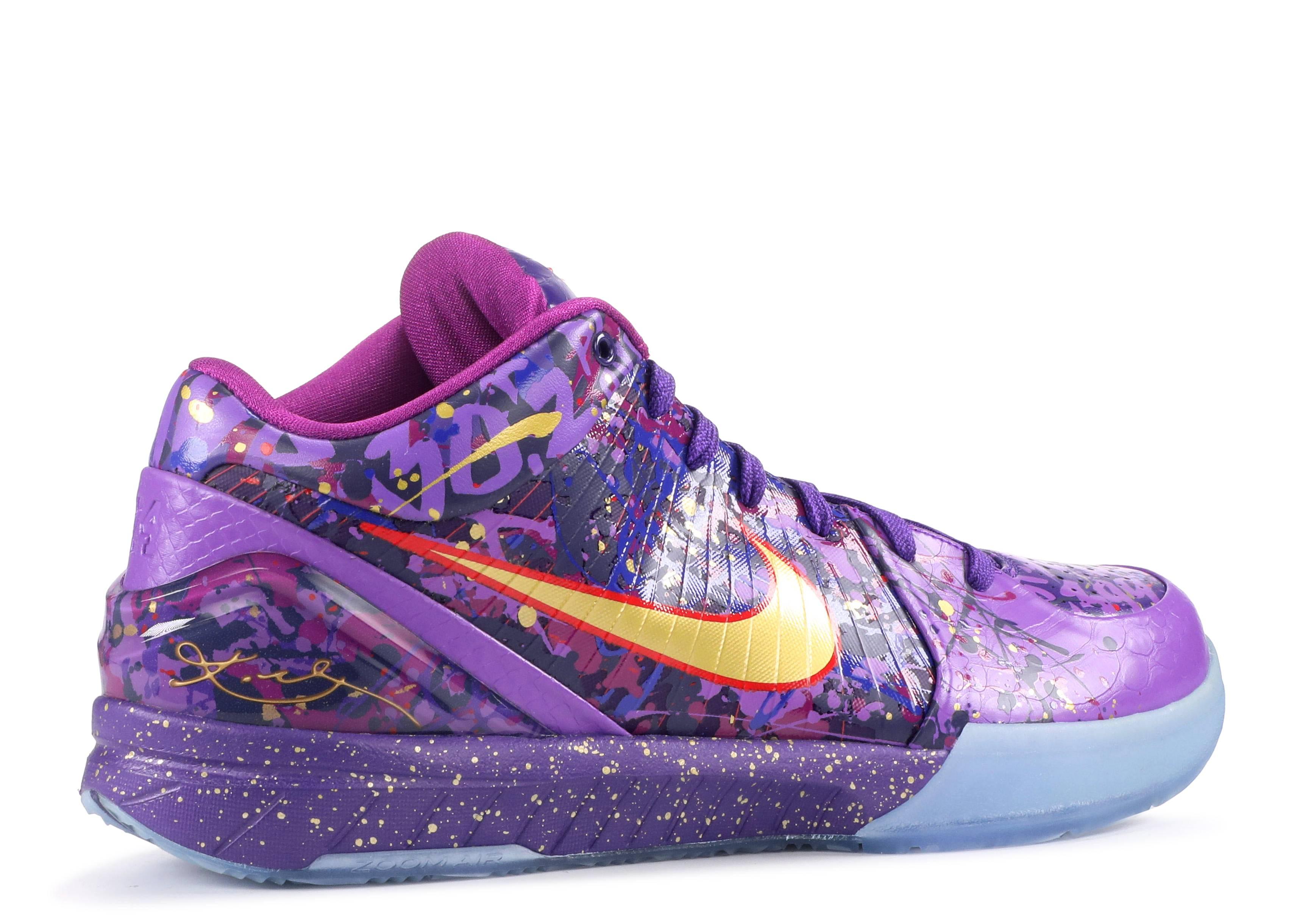 "Zoom Kobe 4 Prelude ""prelude 4"" - Nike - 639693 500 - crt ..."