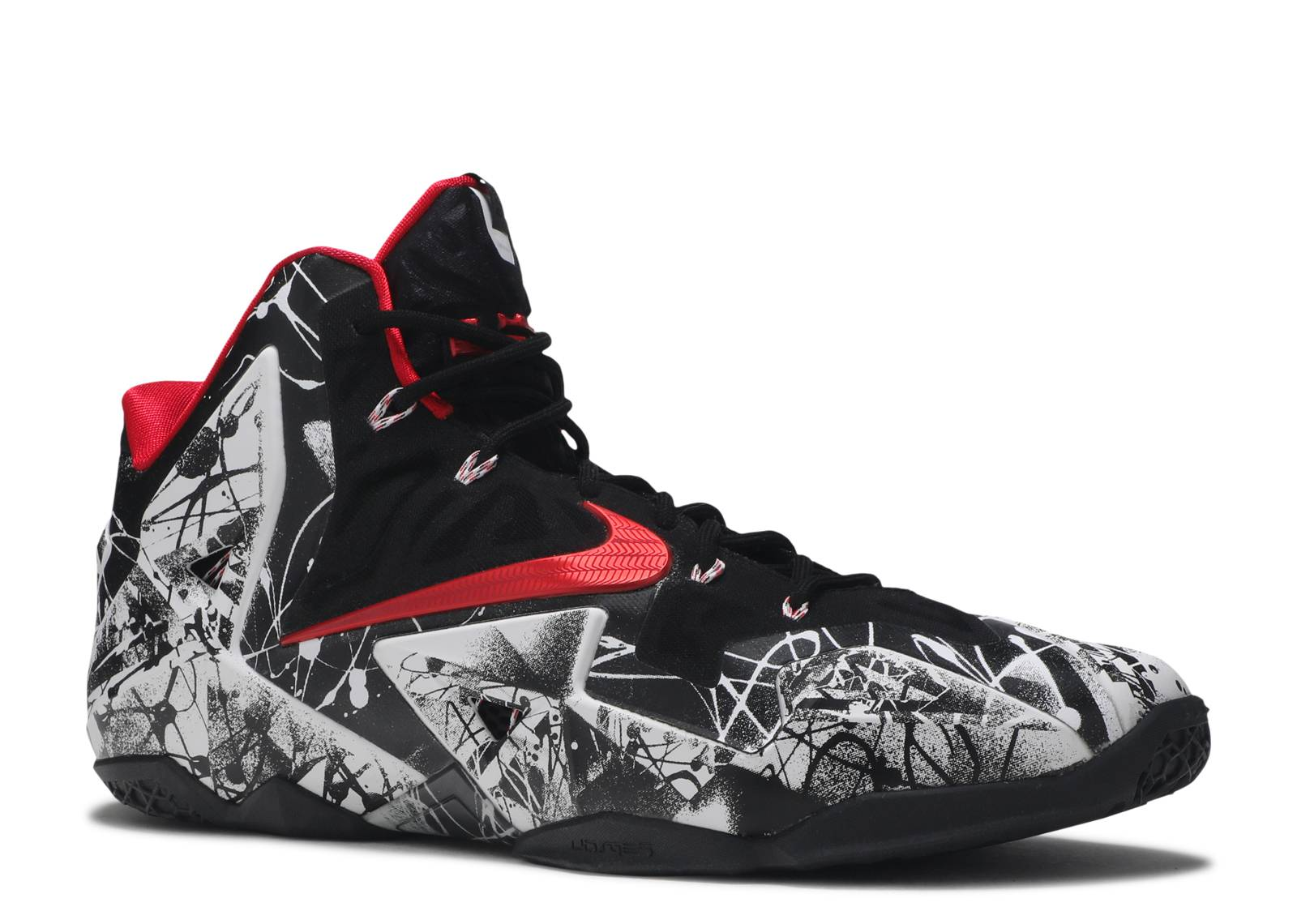 "Lebron 11 ""graffiti"" - Nike - 616175 100 - white ..."