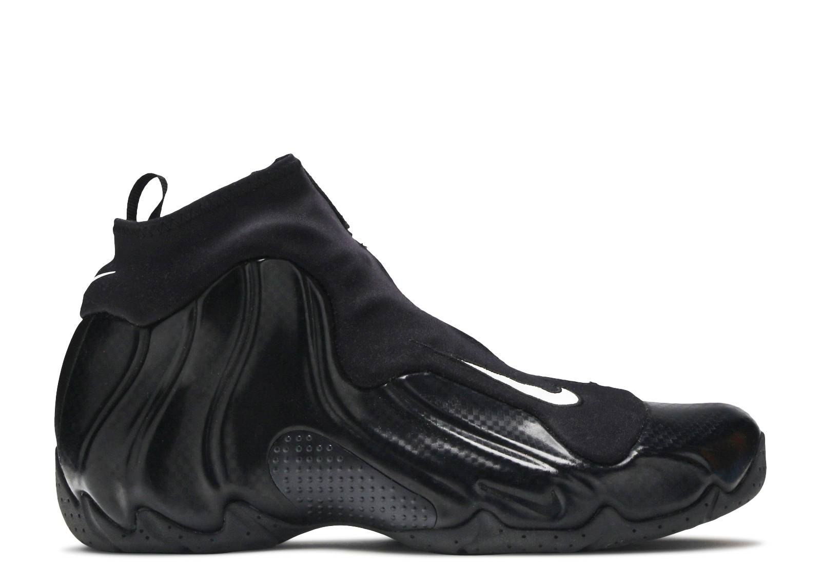 new styles cf3fd 5ab31 nike foamposite carbon fiber snakeskin 9  air flightposite 2014 carbon  fiber black black metallic silver flight club