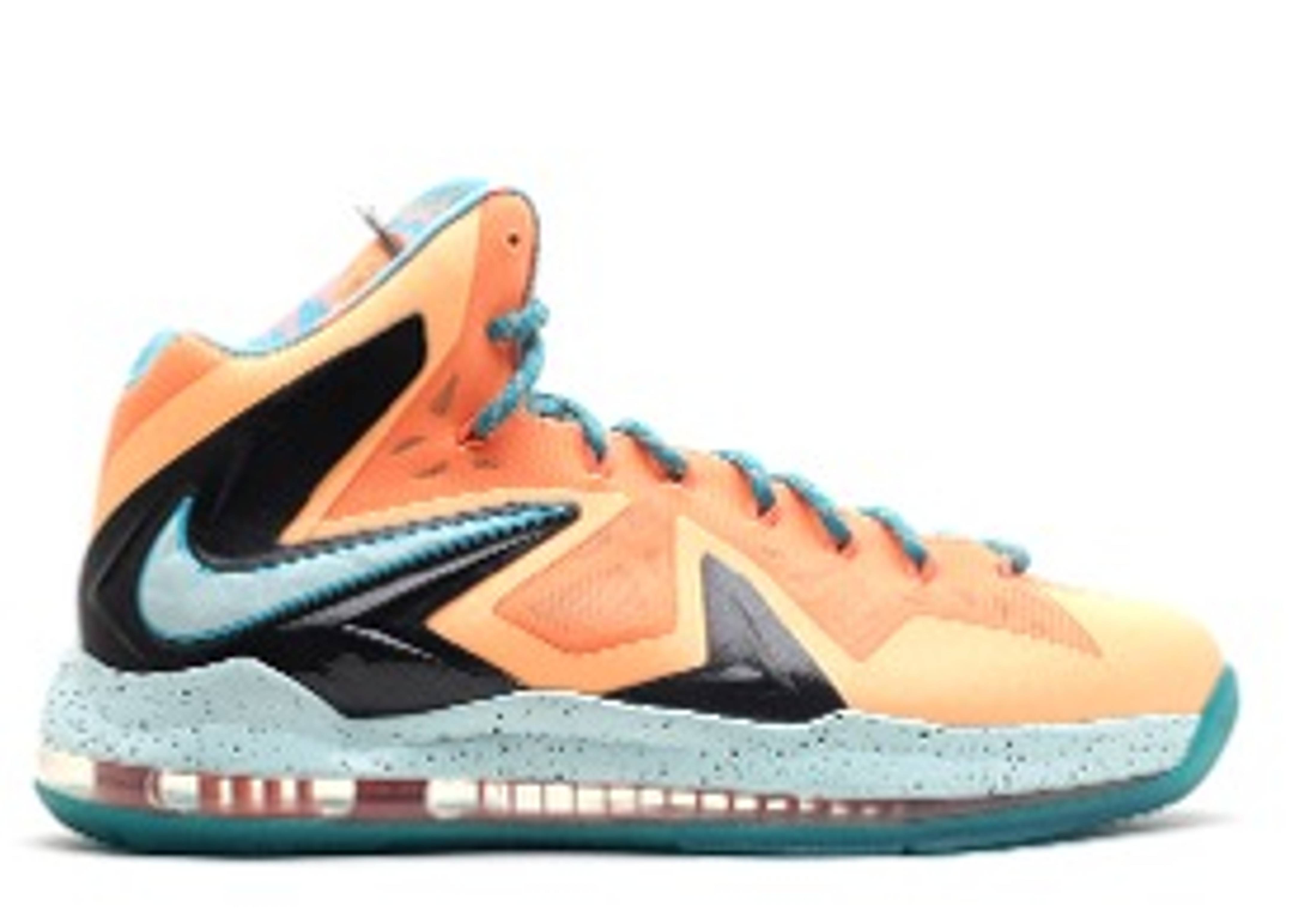 "lebron 10 elite PE ""peach jam"""