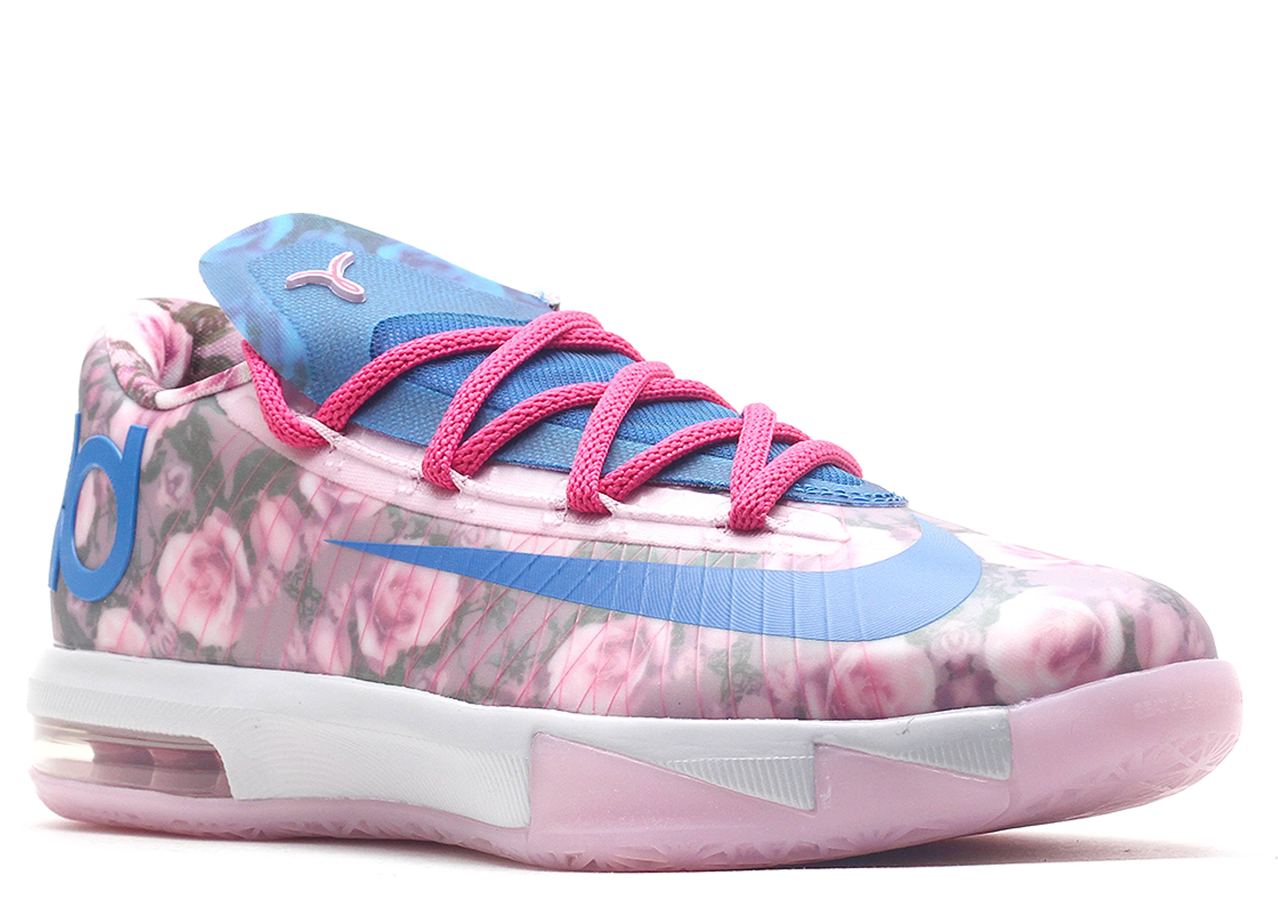 kd 6 gs quotaunt pearlquot nike 599477 602 lt artic pink