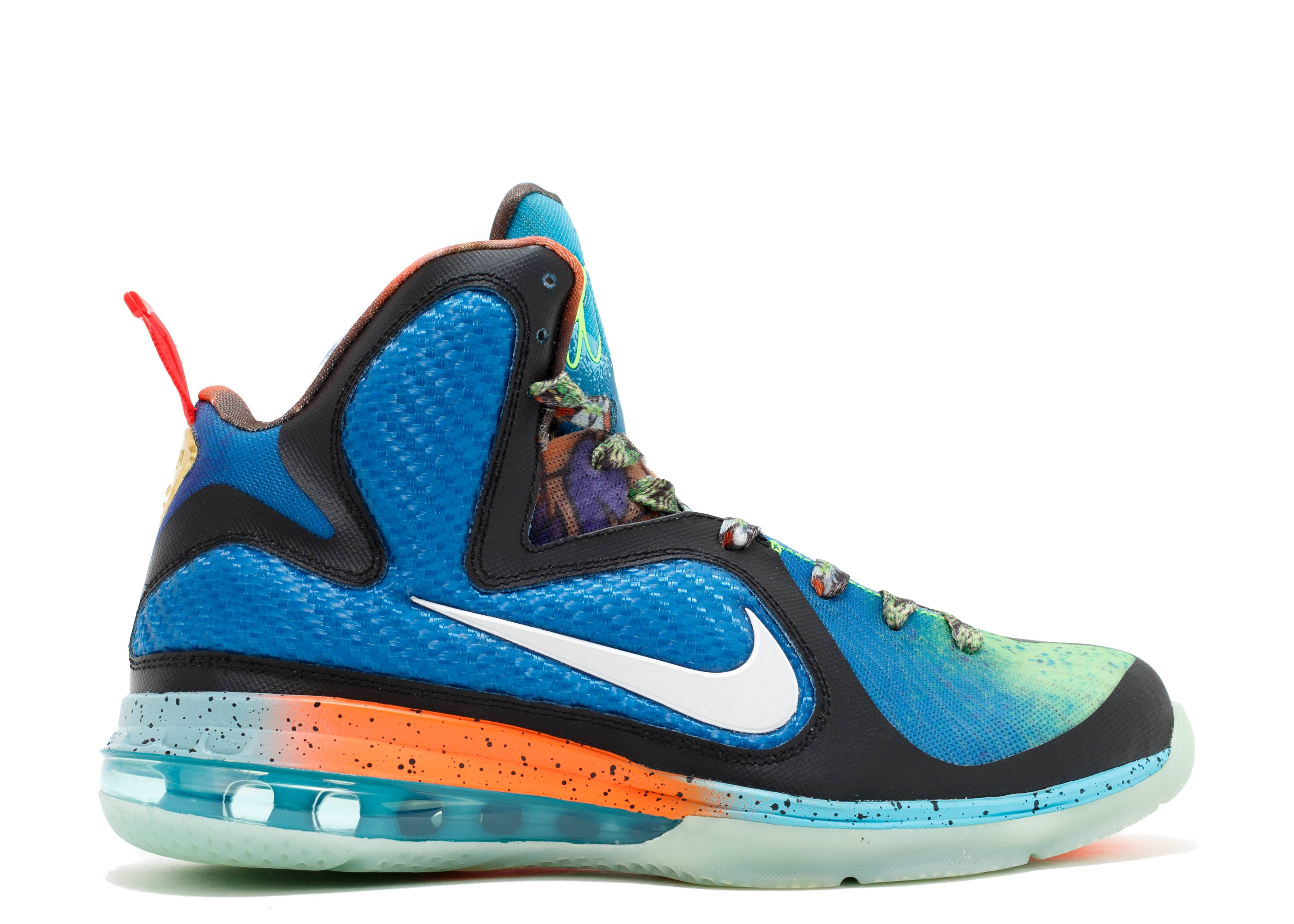 "lebron 9 ""what the lebron(sample)"""