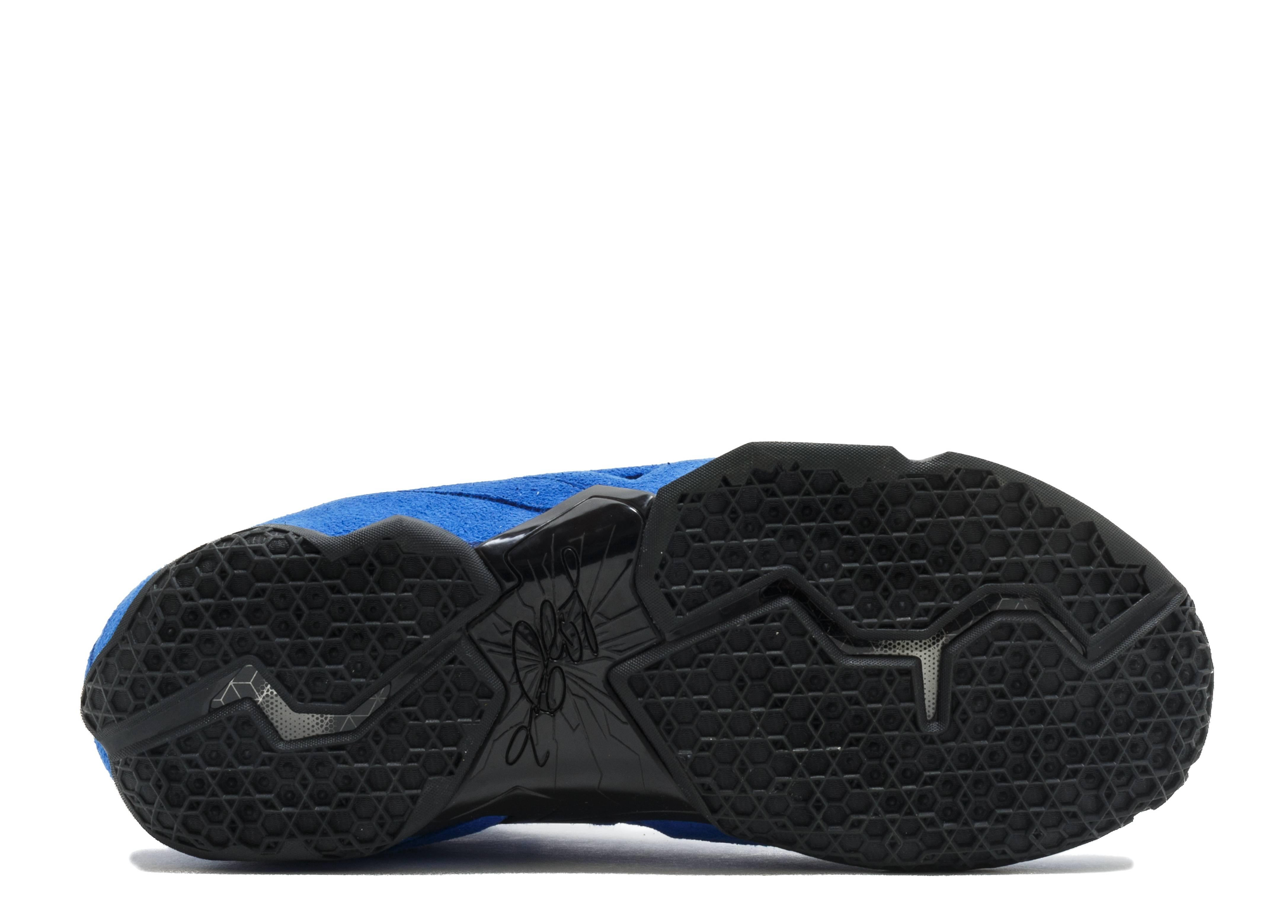 Lebron 11 Ext Suede Qs - Nike - 656274 440 - game royal game royal-black  59cddafb7
