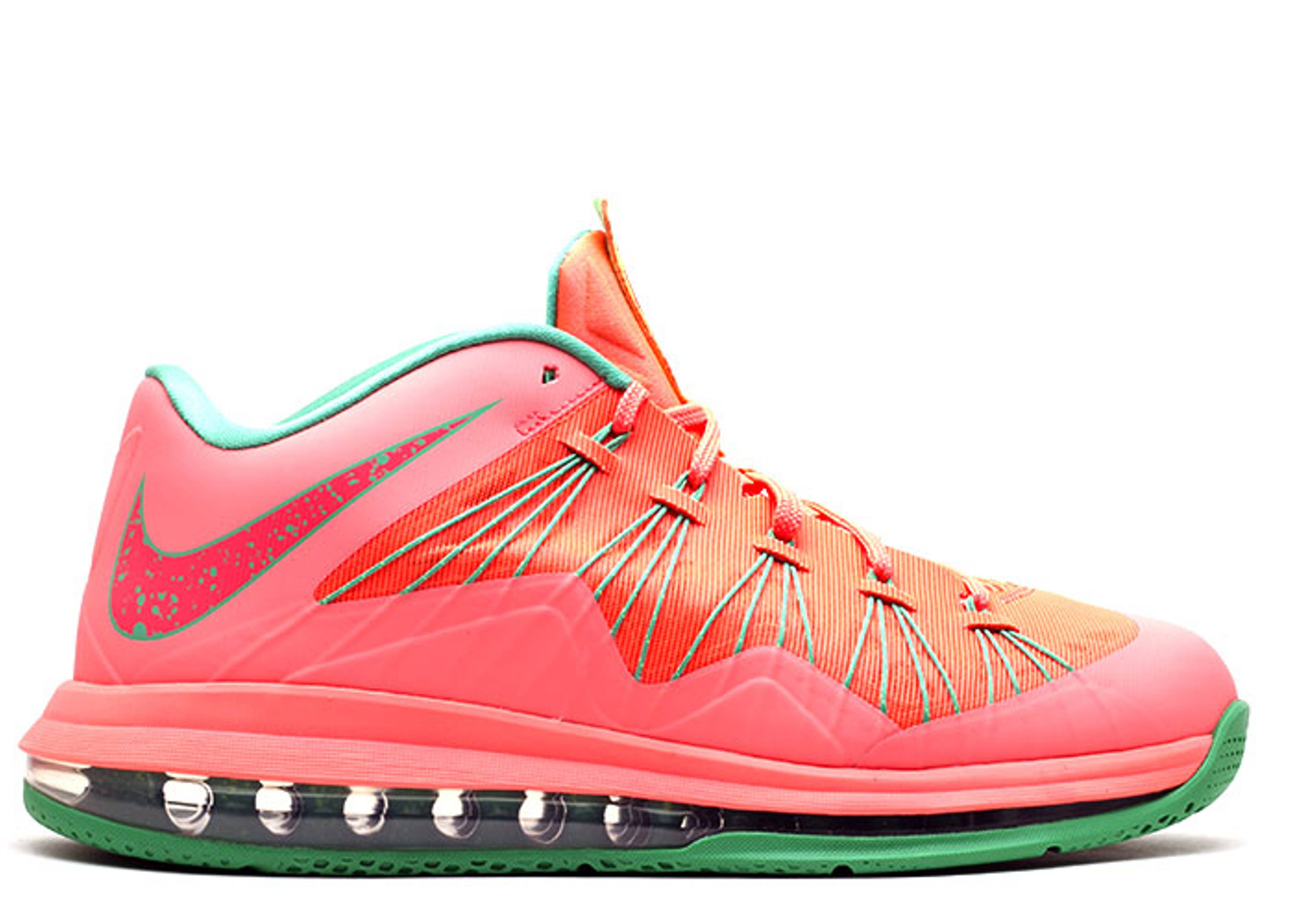 "air max lebron 10 low ""watermelon"" - brght mng/brght mng ..."