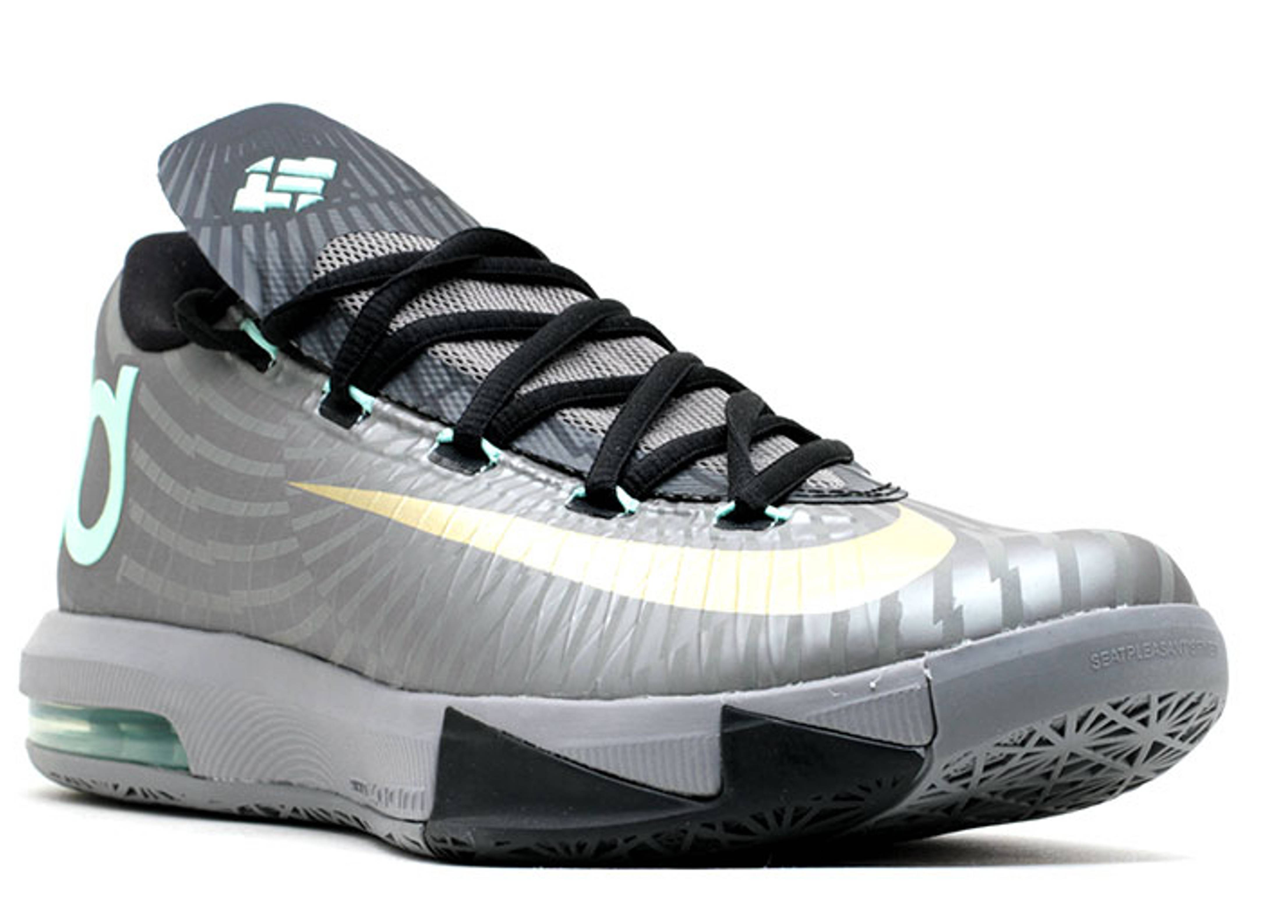 kd 6 quotprecision timingquot nike 599424 003 mtlc pwtr