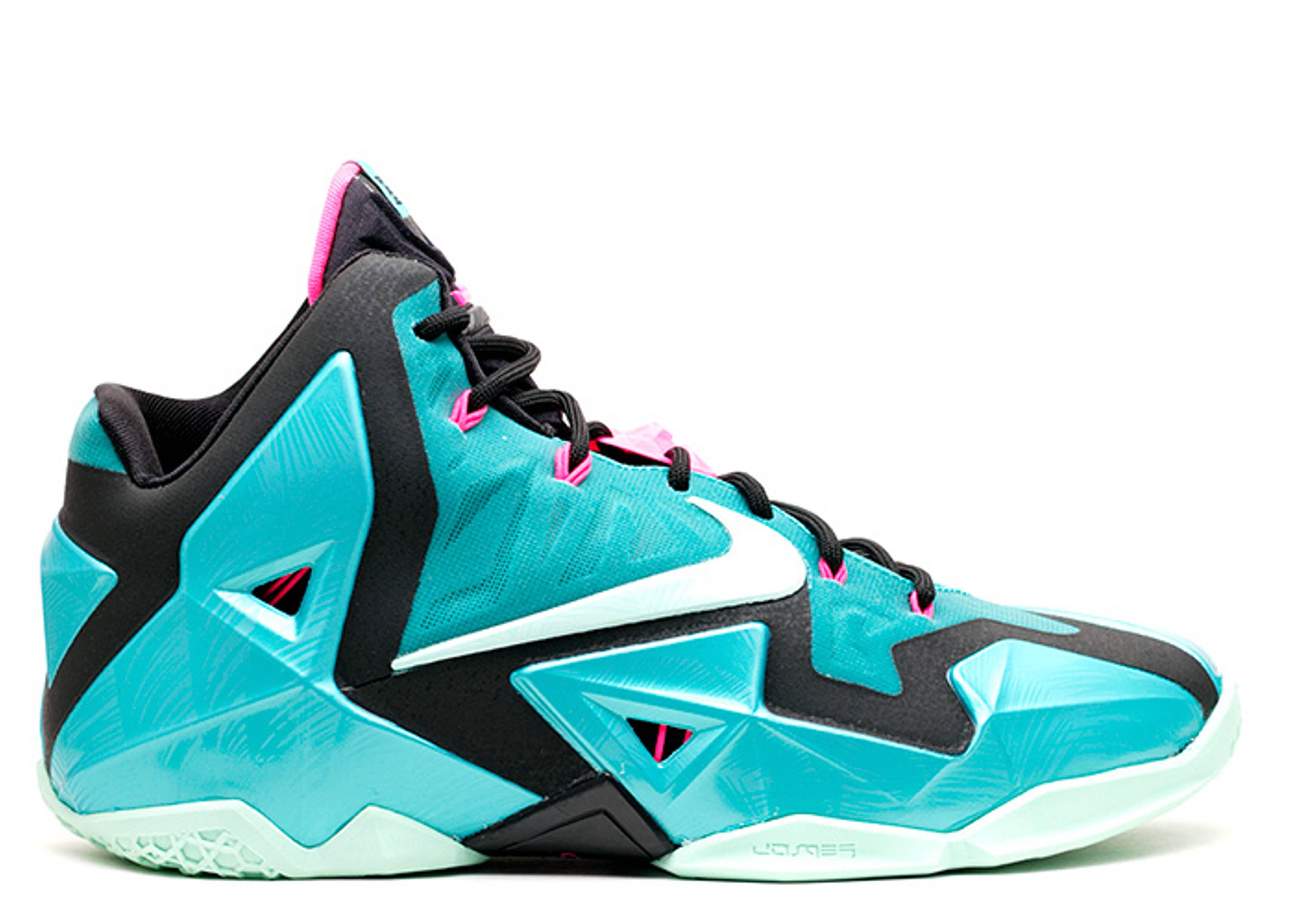 Papà decisamente microscopico  LeBron 11 'South Beach' - Nike - 616175 330 - sport turq/medium mint-black  | Flight Club