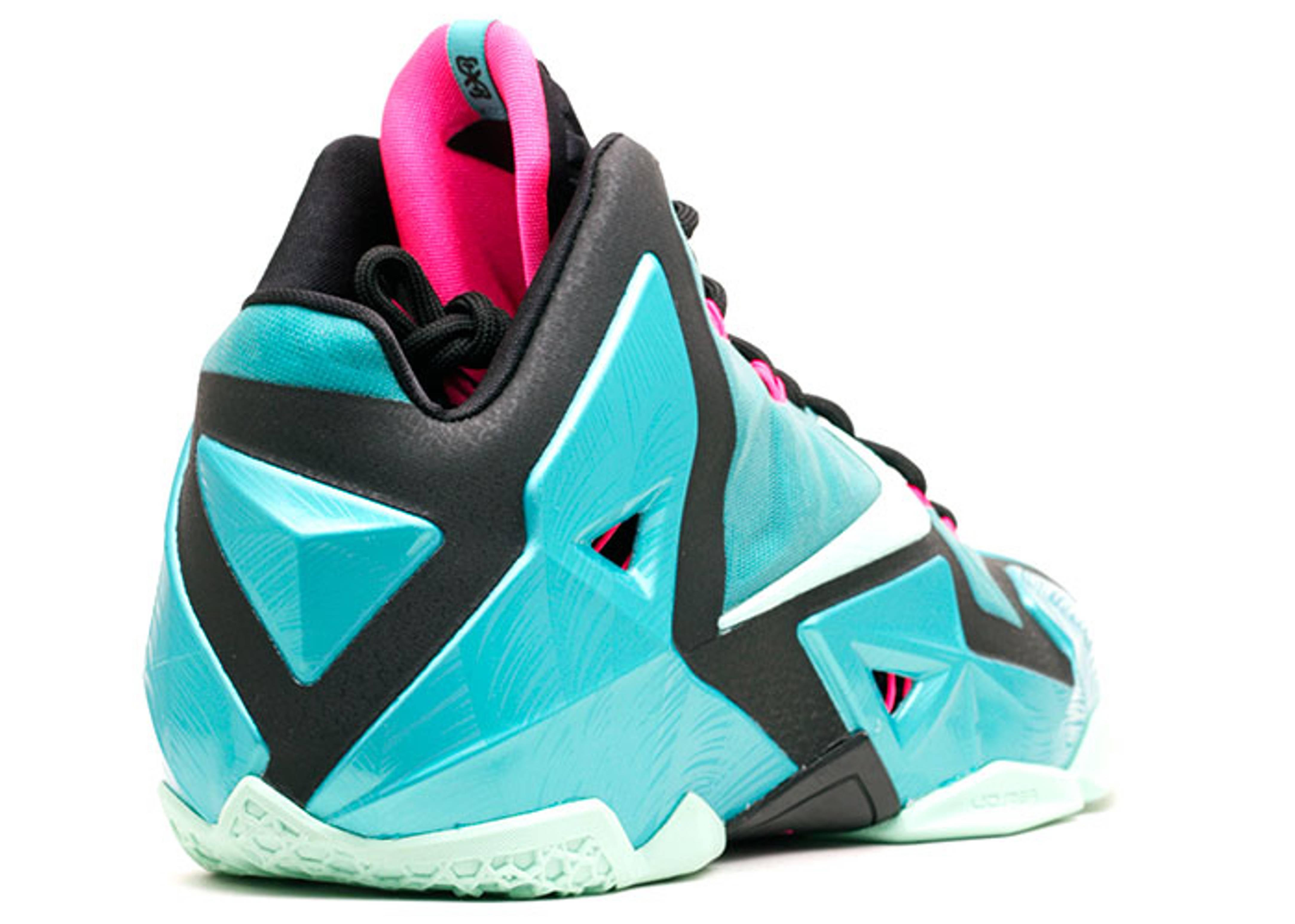 "Lebron 11 ""south Beach"" - Nike - 616175 330 - sport turq ..."