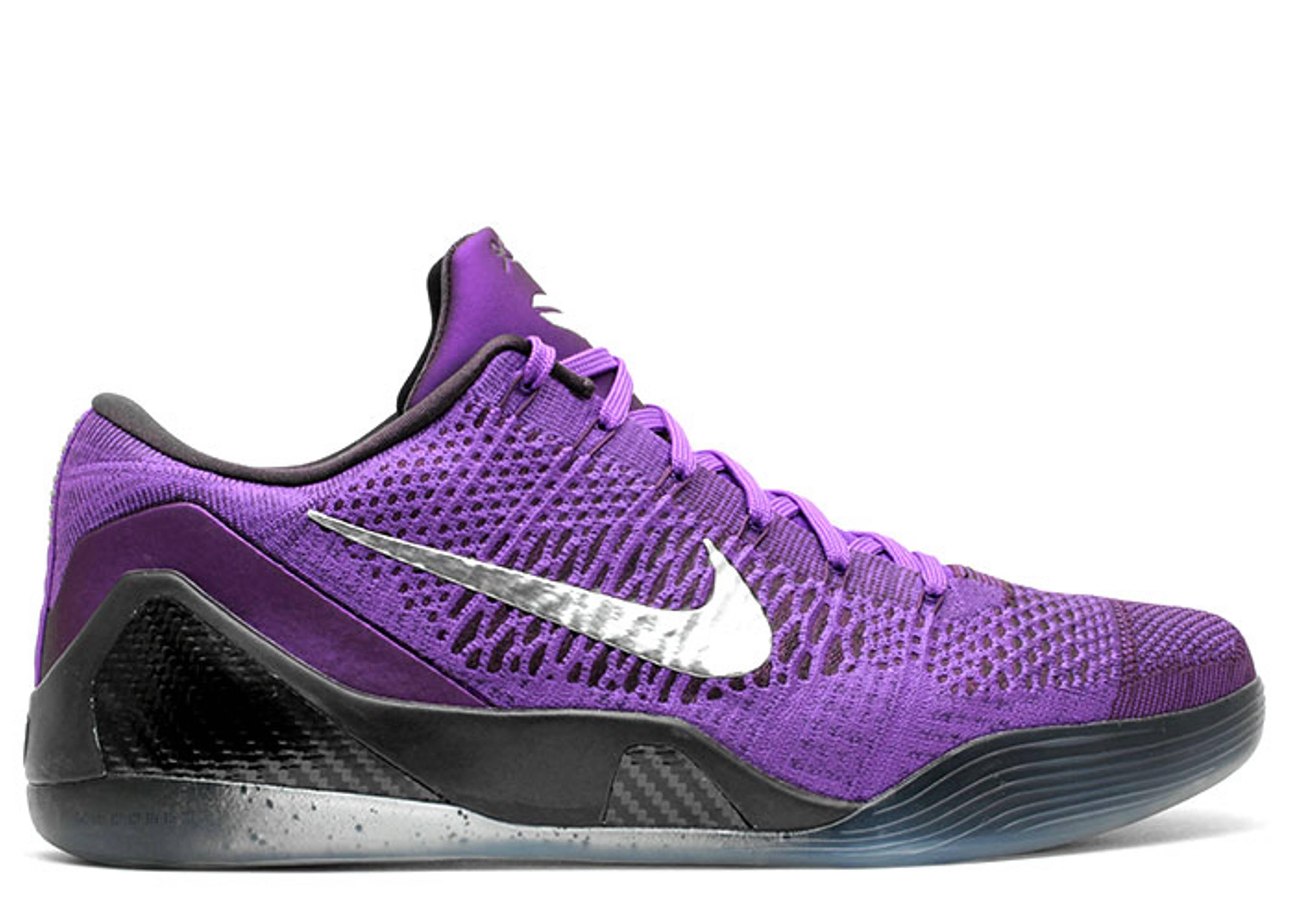 Nike Kobe 9 IX Elite XDR Brave Blue/Metallic Silver Military Blue