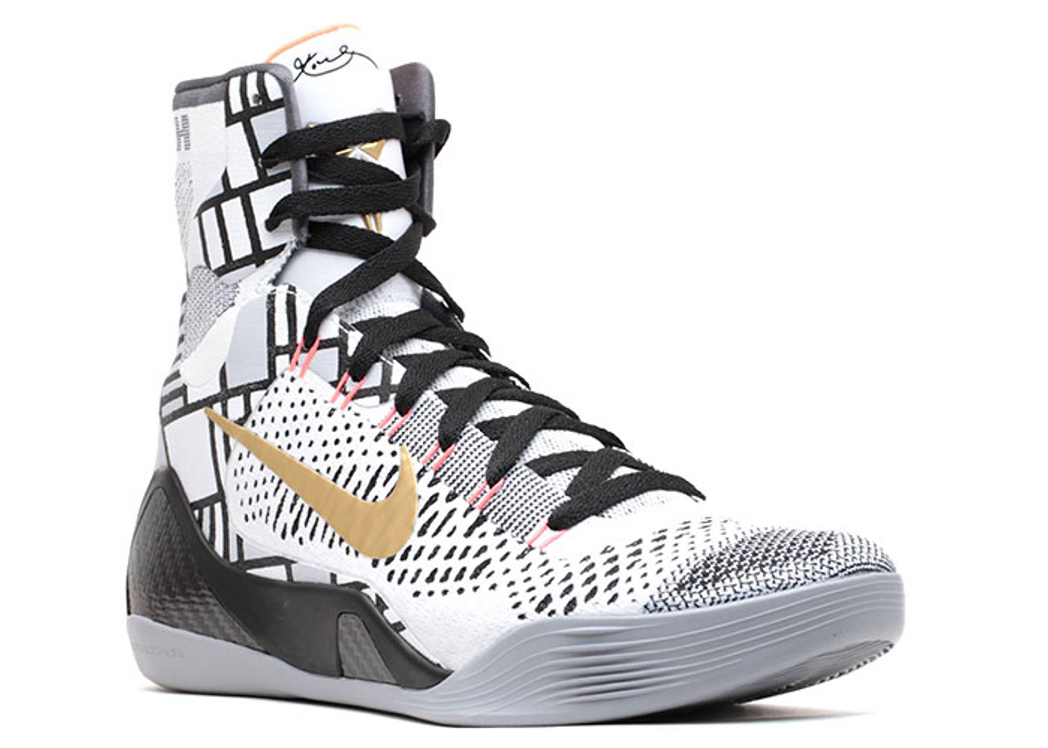 buy online 2530d 0c61a ... Black Basketball Shoes nike. kobe 9 elite ...