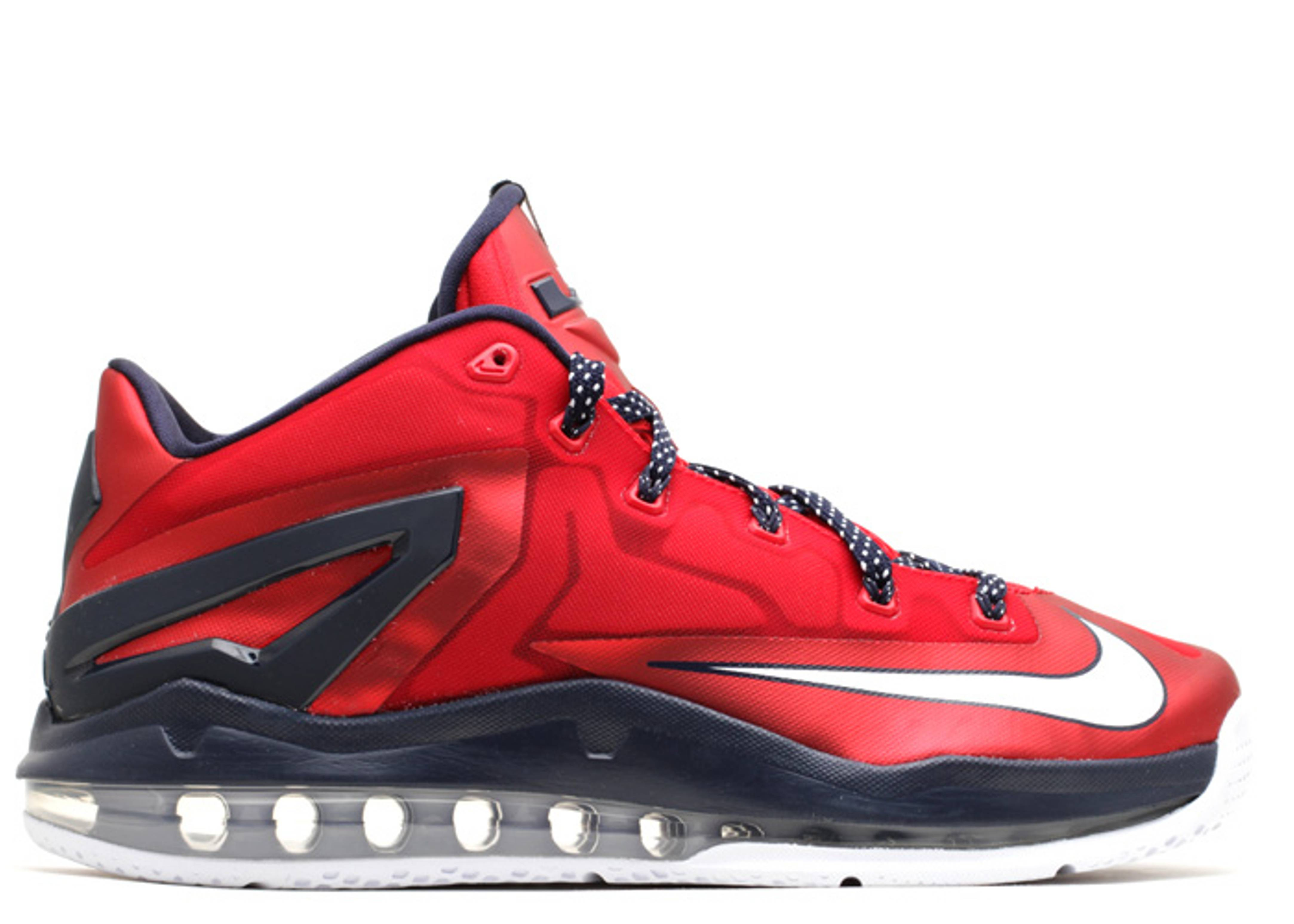 "Max Lebron 11 Low ""independence Day"" - Nike - 642849 614 ..."