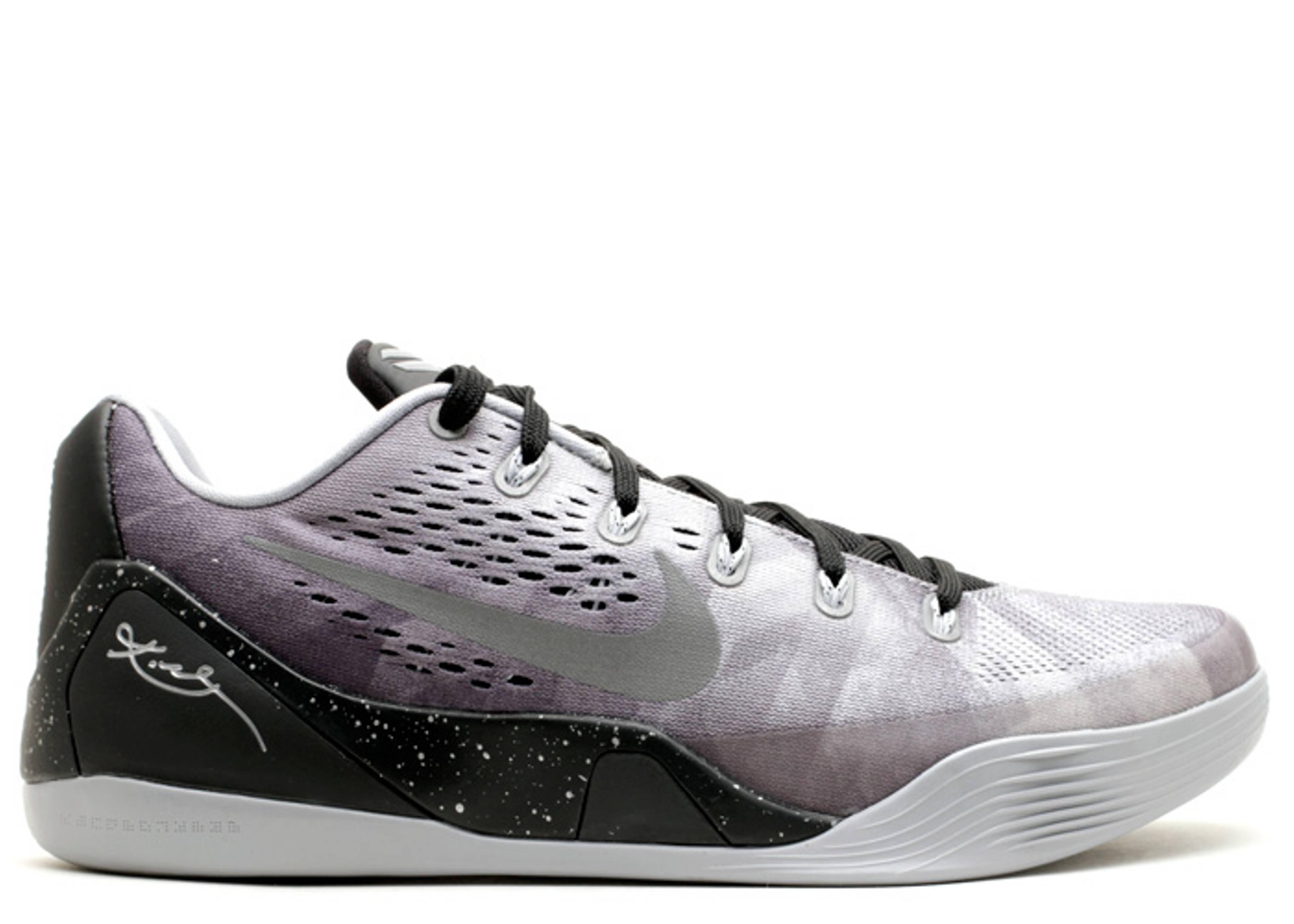 Kobe 9 Prm Blackmetallic Silver