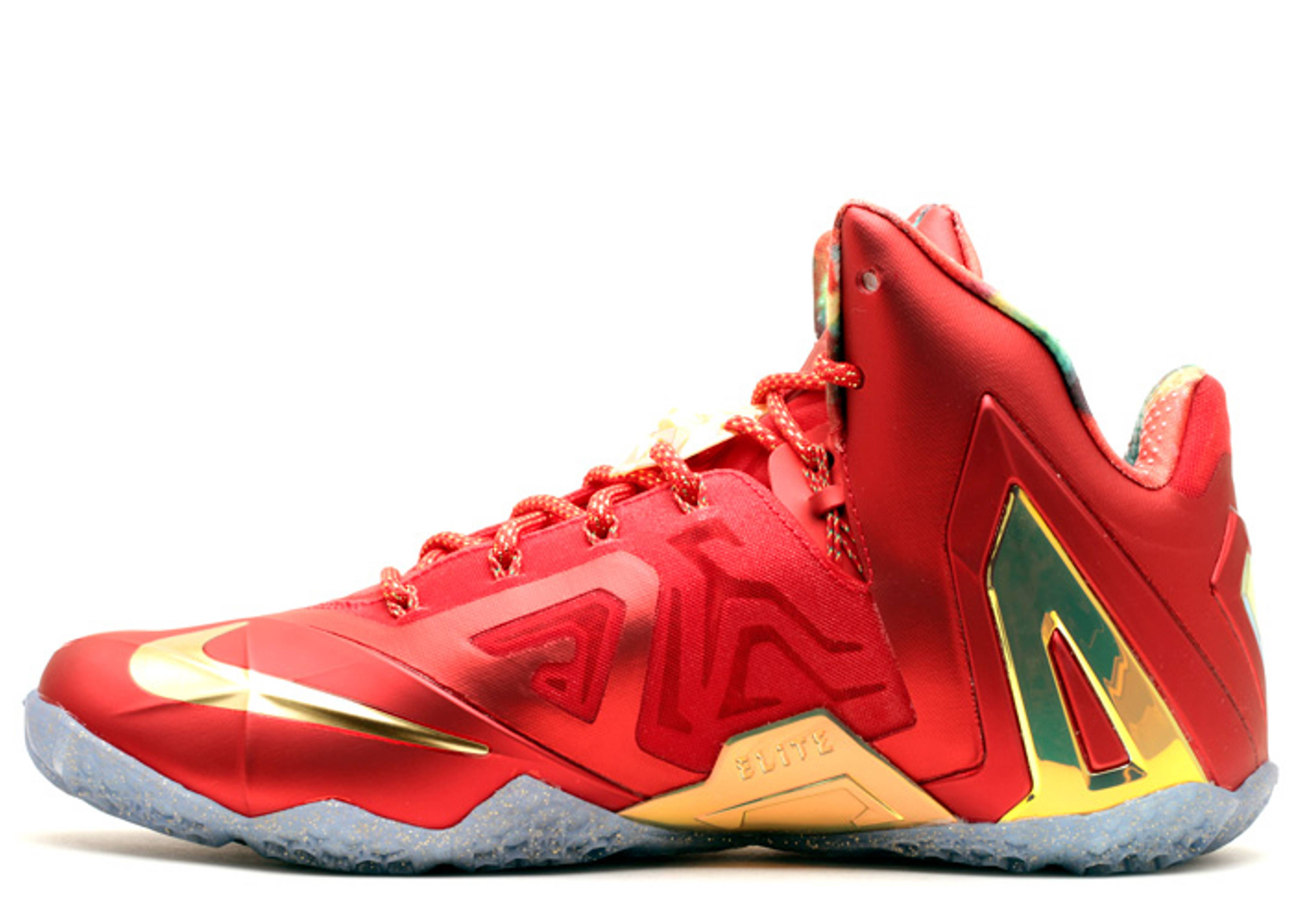 lebron 11 elite se nike 695226 670 university red