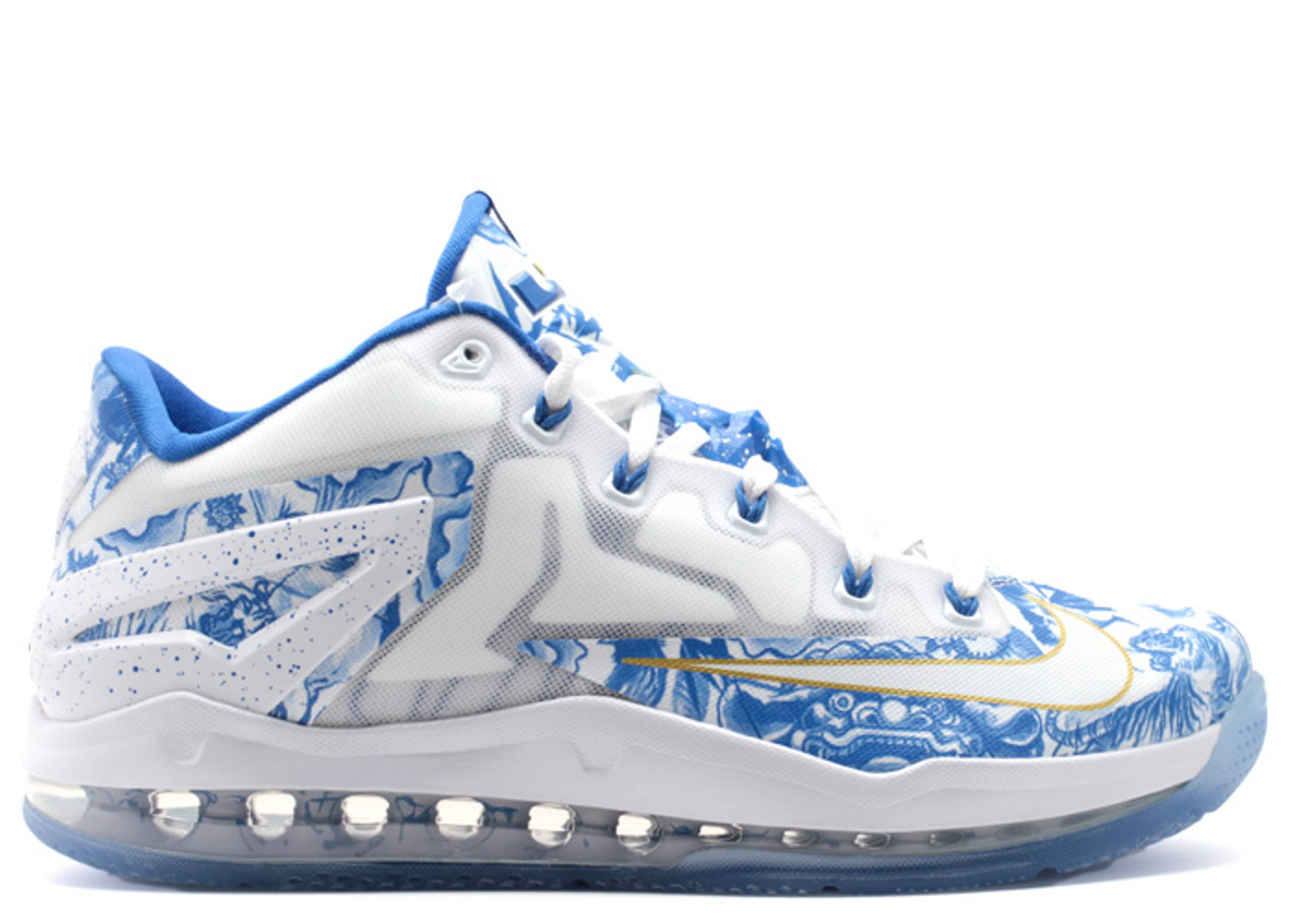 Max Lebron 11 Low Ch Pack China Nike 683253 144 Whitehyper