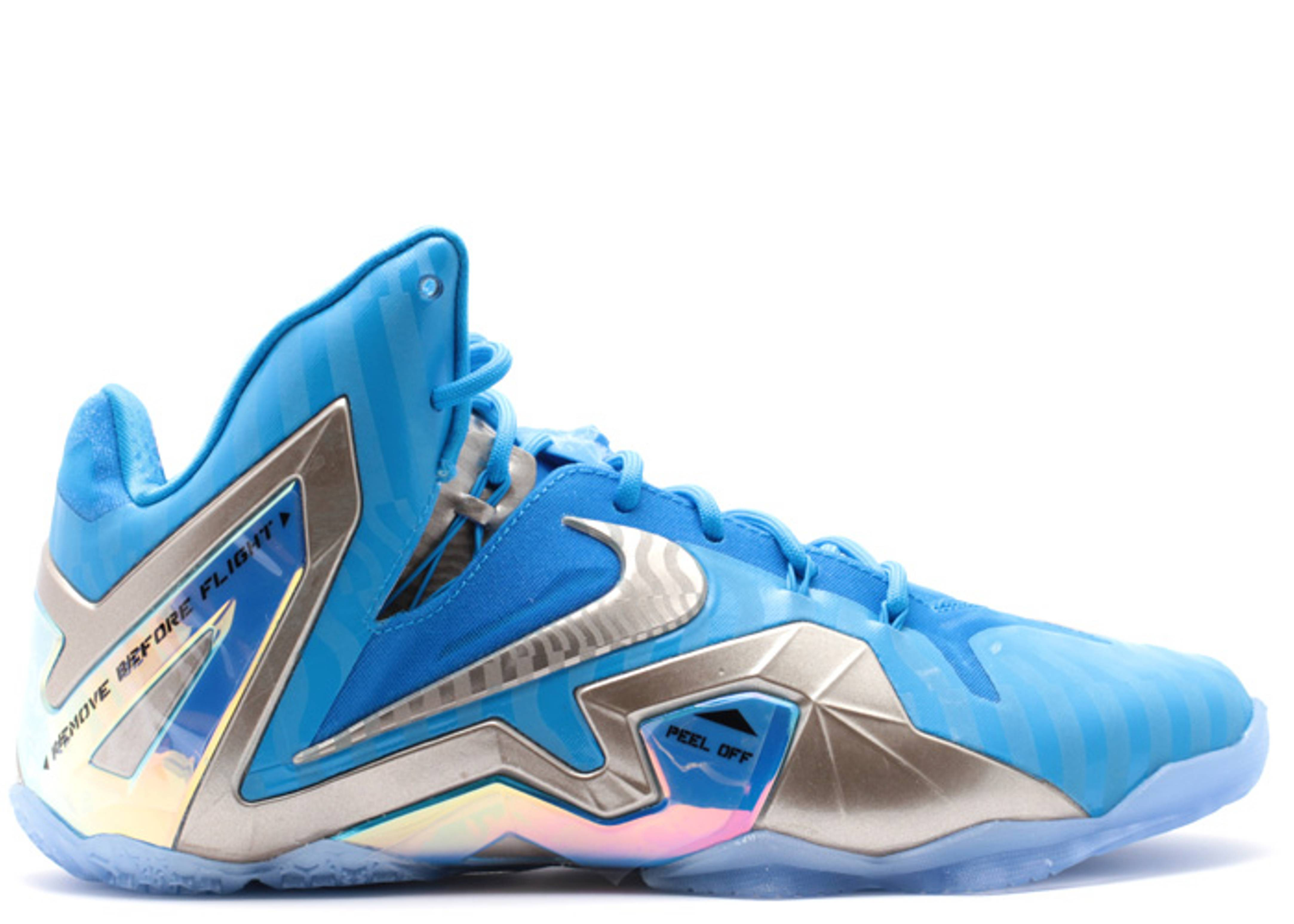 lebron 11 elite collection nike 682892 404 blue