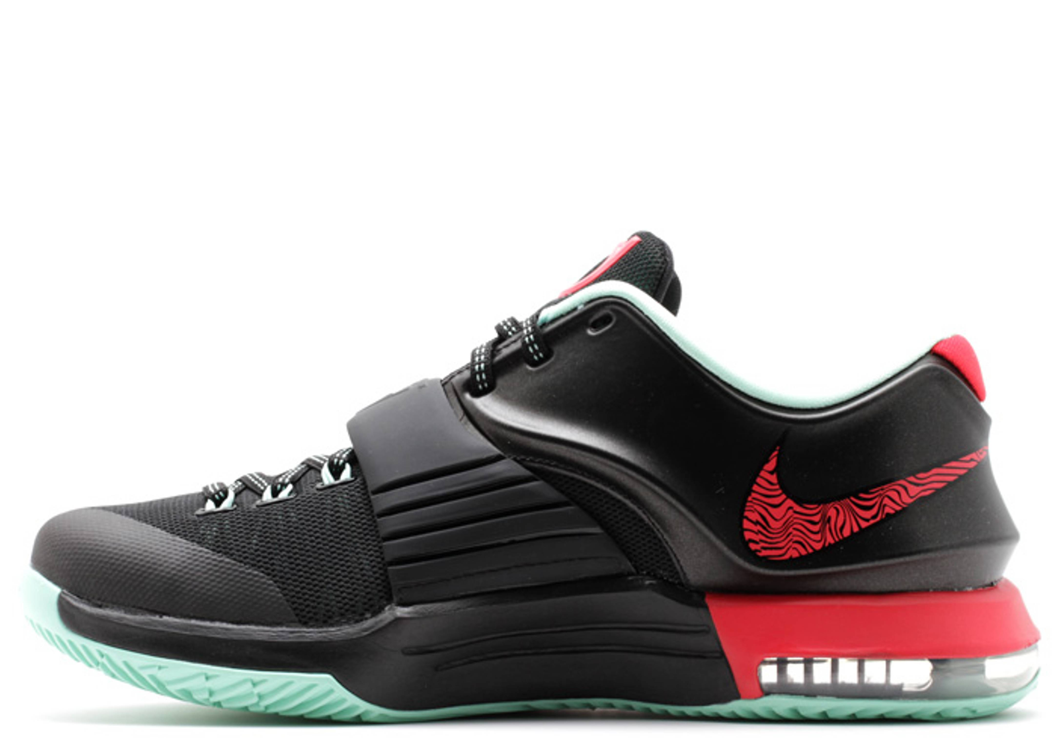 separation shoes a6852 43ad8 ... kd 7 bad apples nike 653996 063 black action red medium mint flight club