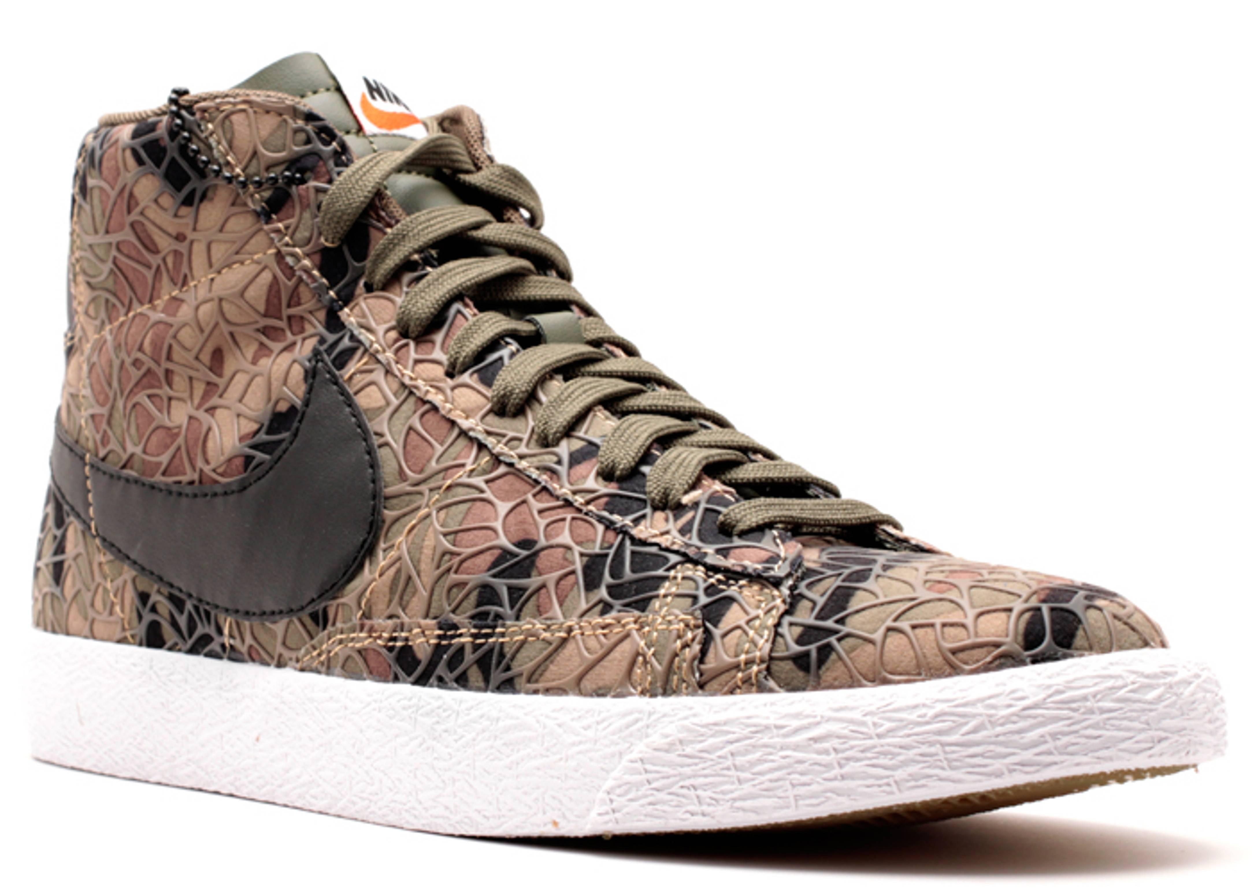 Nike Blazer Mid Prm Vntg Qs - Khaki / Khaki Cargo Centre de liquidation d5DGxiVkyb