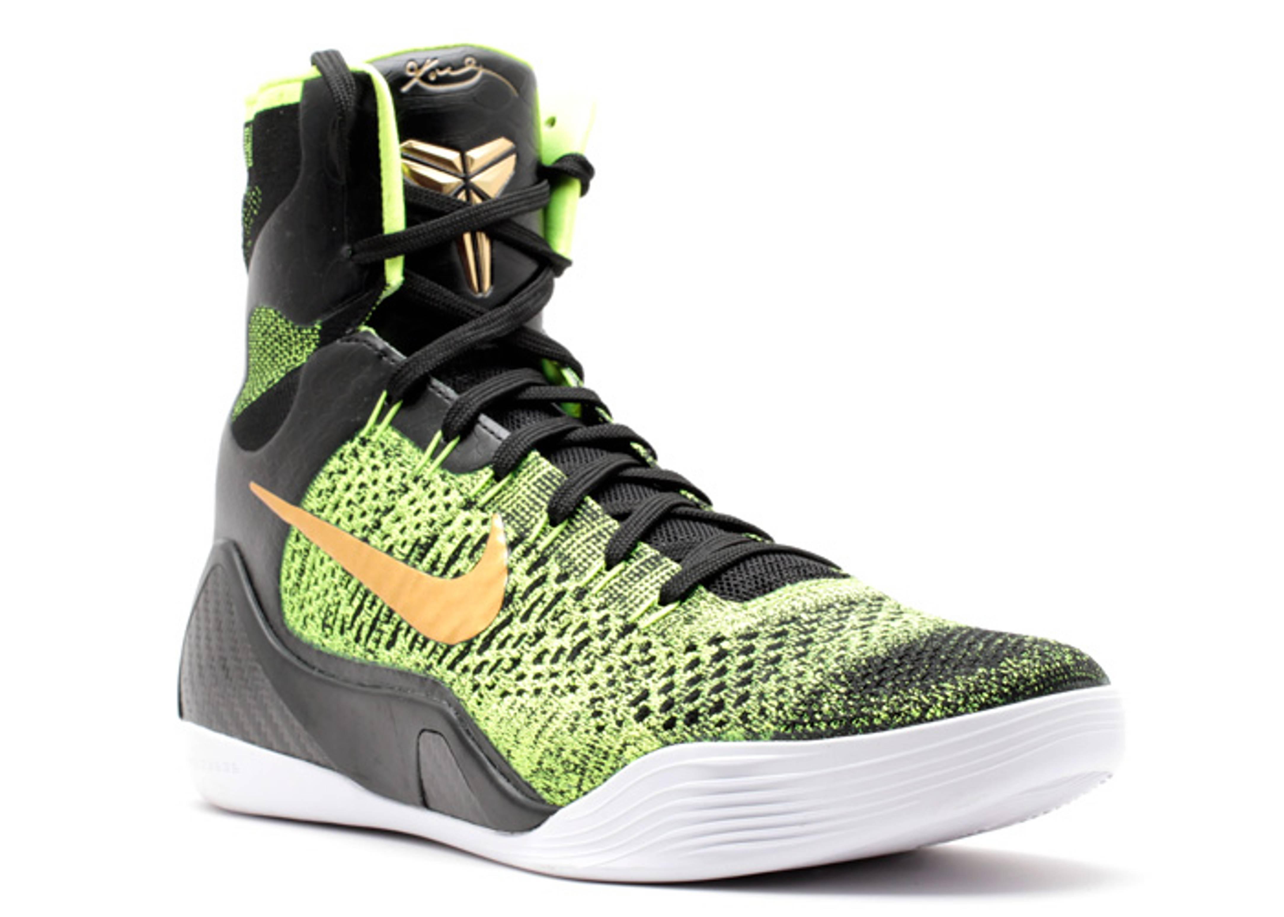 kobe 9 green and gold