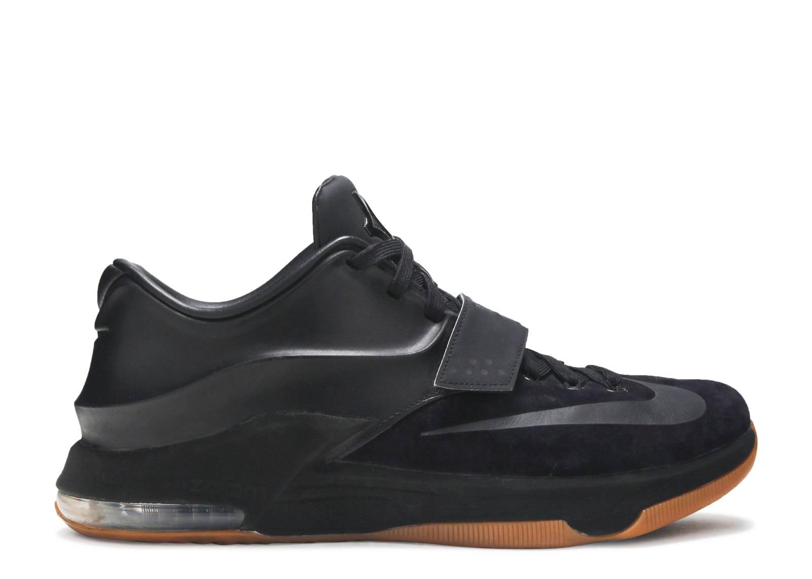 KD7 EXT Suede Men's Shoes Black Black L71d3983