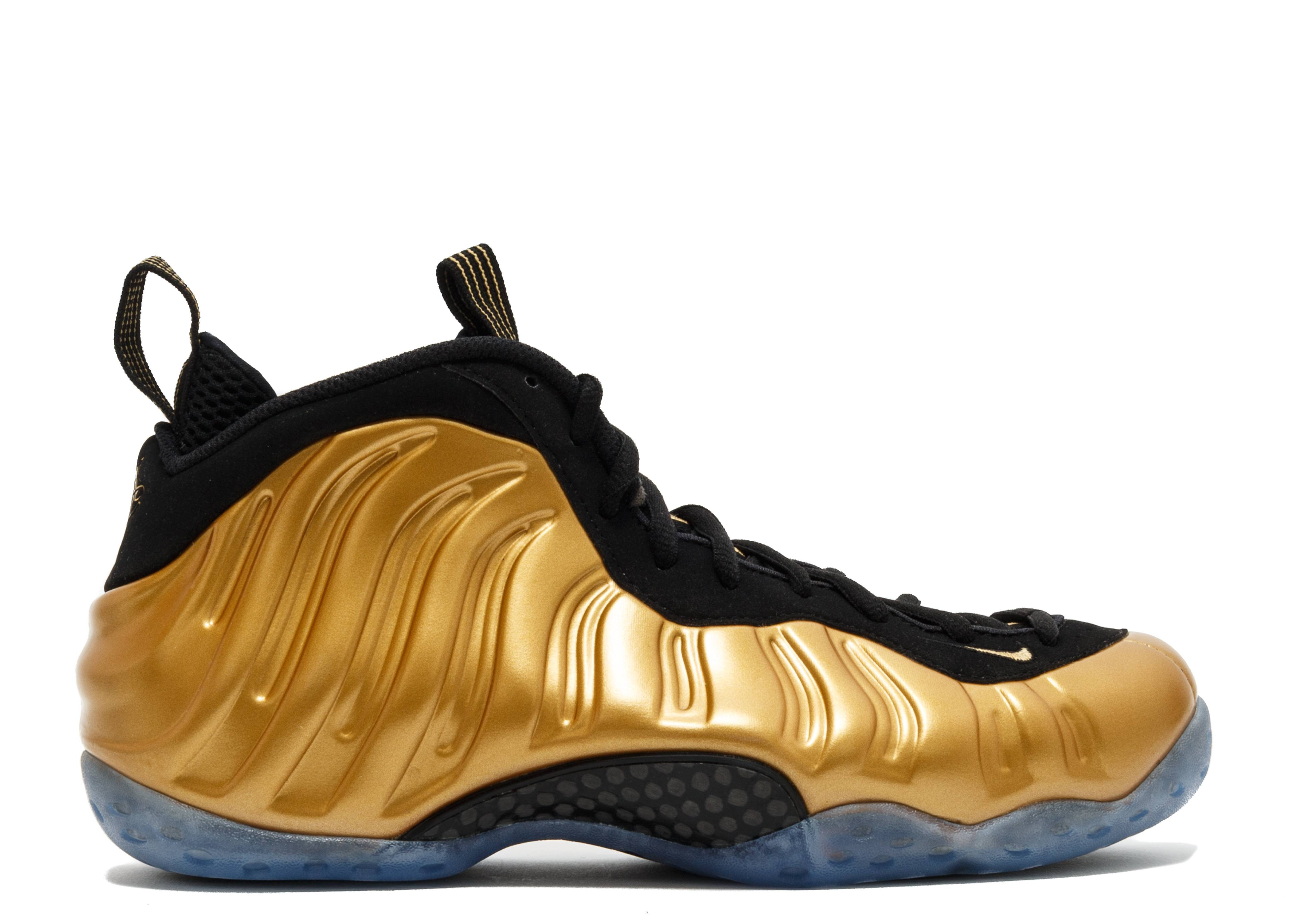 "air foamposite one ""metallic gold"""