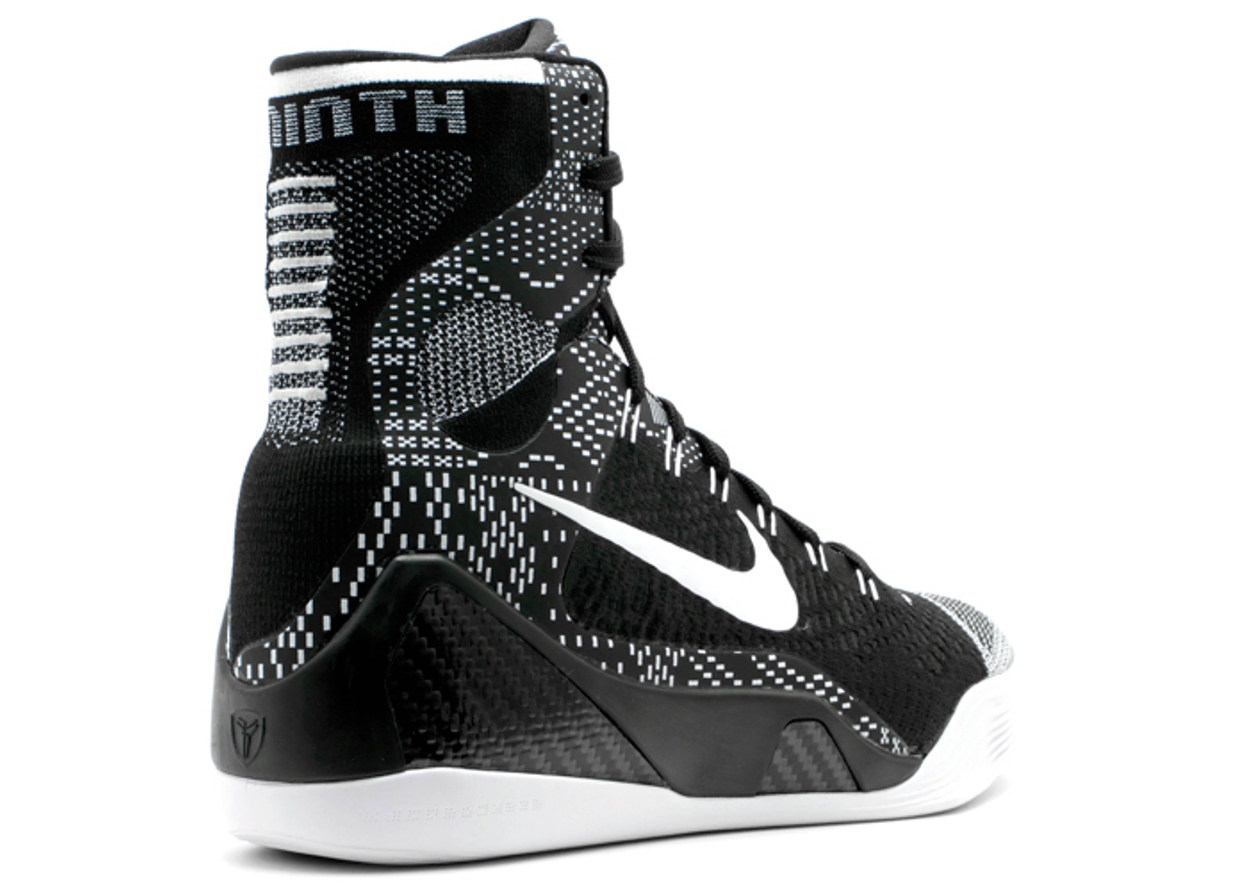 huge discount e1fc4 02b39 Kobe 9 Elite Bhm - Nike - 704304 010 - black white   Flight Club