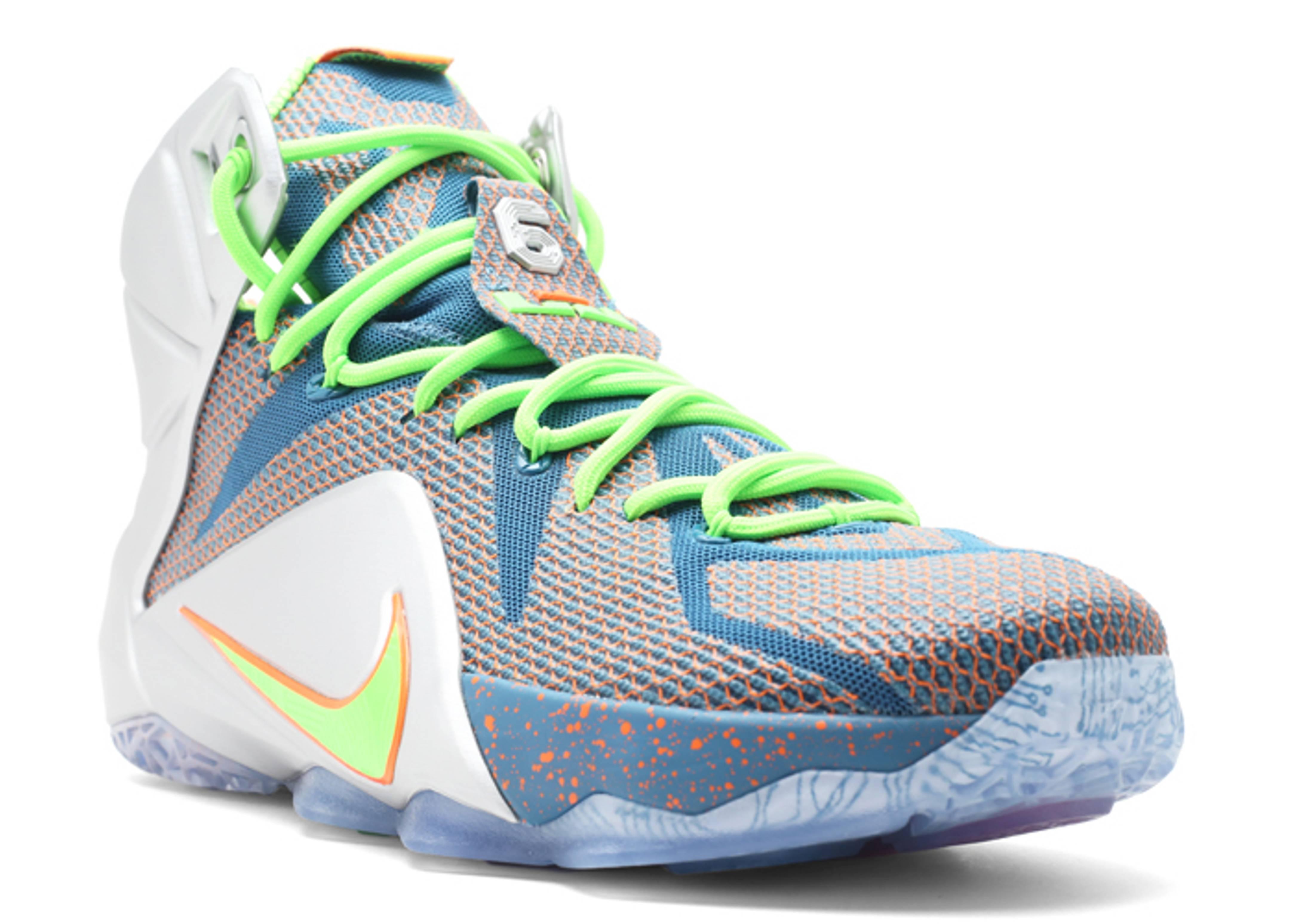Lebron 12 Prm Trillion Dollar Man Nike 705410 430