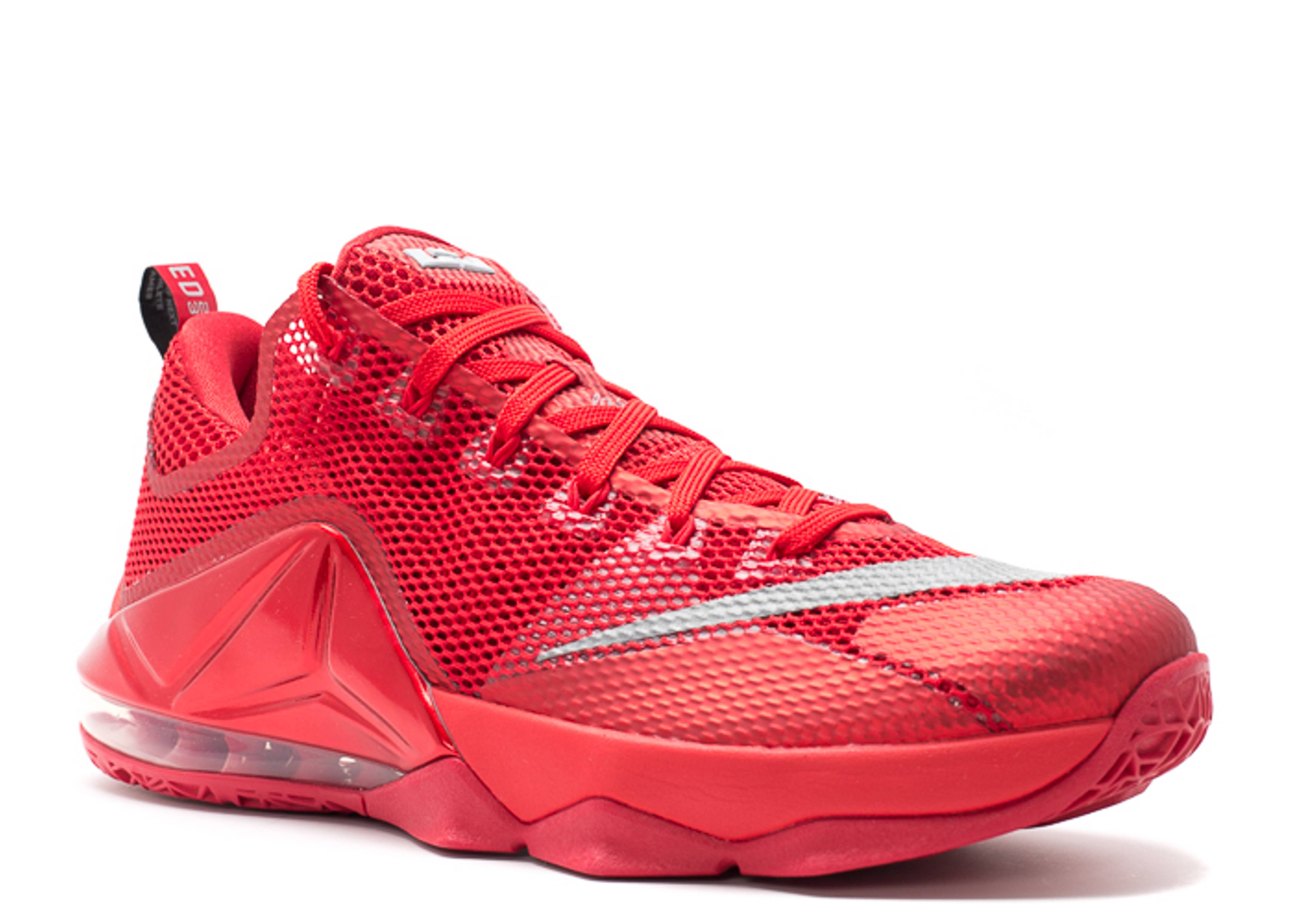 half off eaebc 59921 ... where to buy lebron 12 low nike 724557 616 unvrsty rd rflct slvr gym rd  b