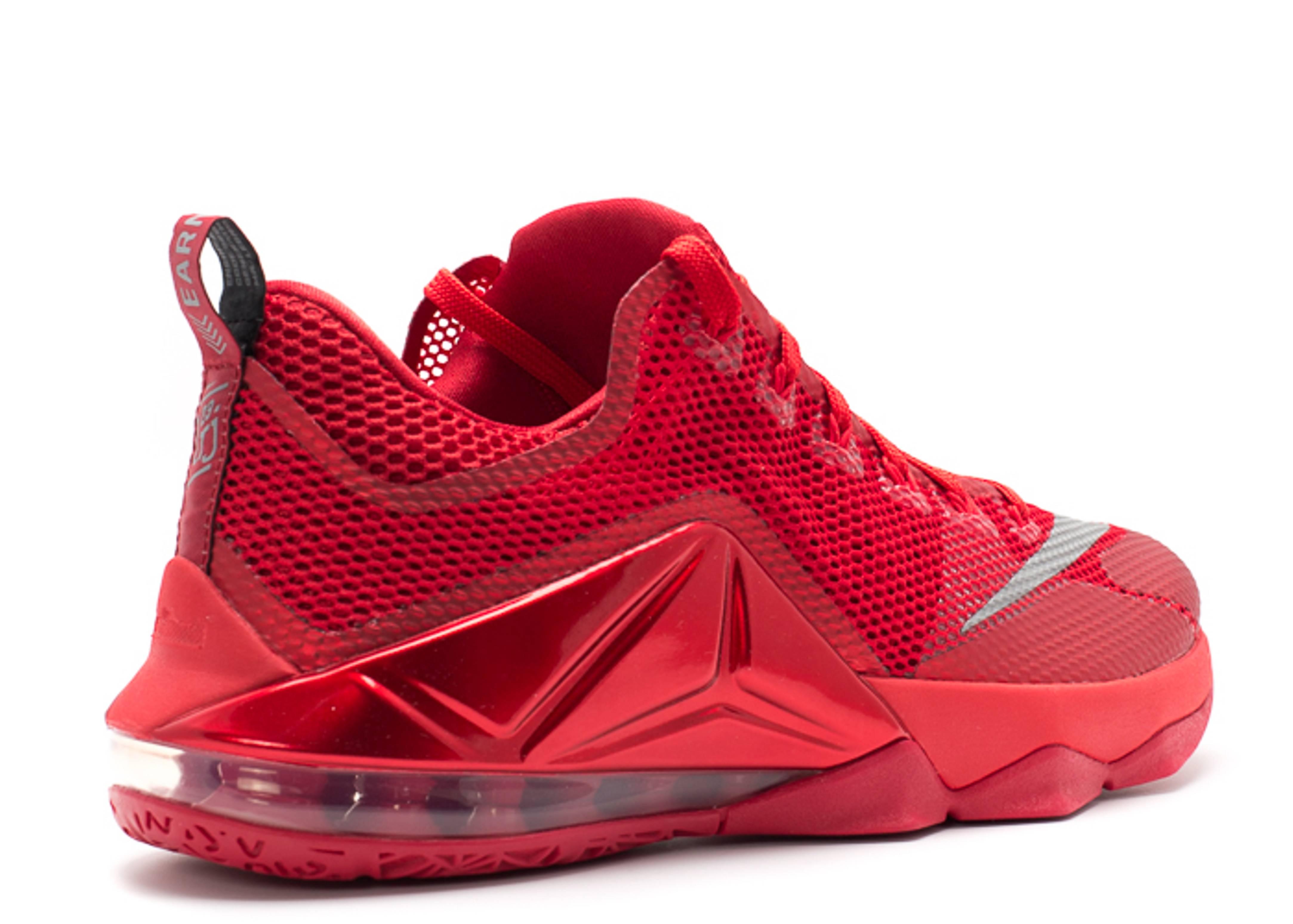 a7ec7926c0e lebron 12 low - unvrsty rd rflct slvr-gym rd-b - Nike